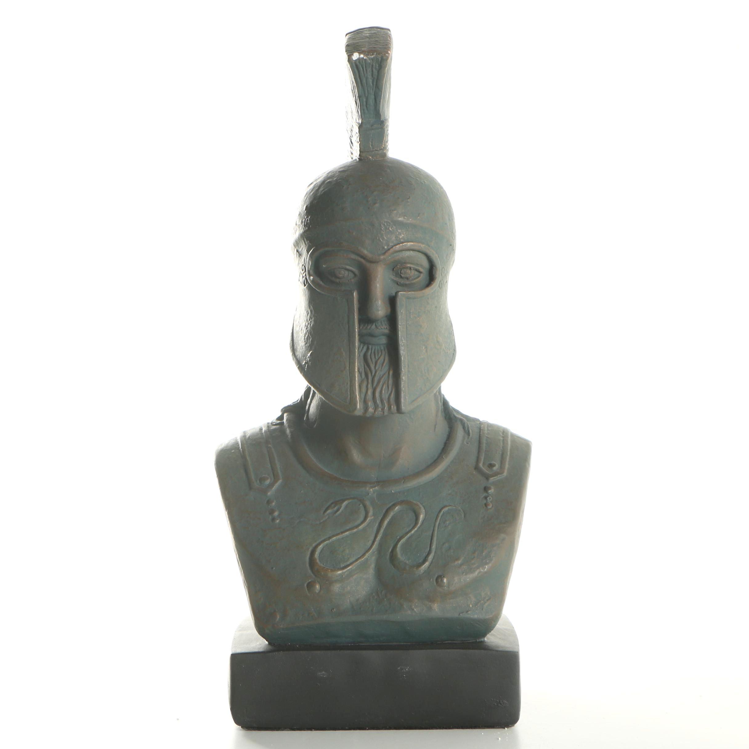Alva Studios Greek Spartan Soldier Bust
