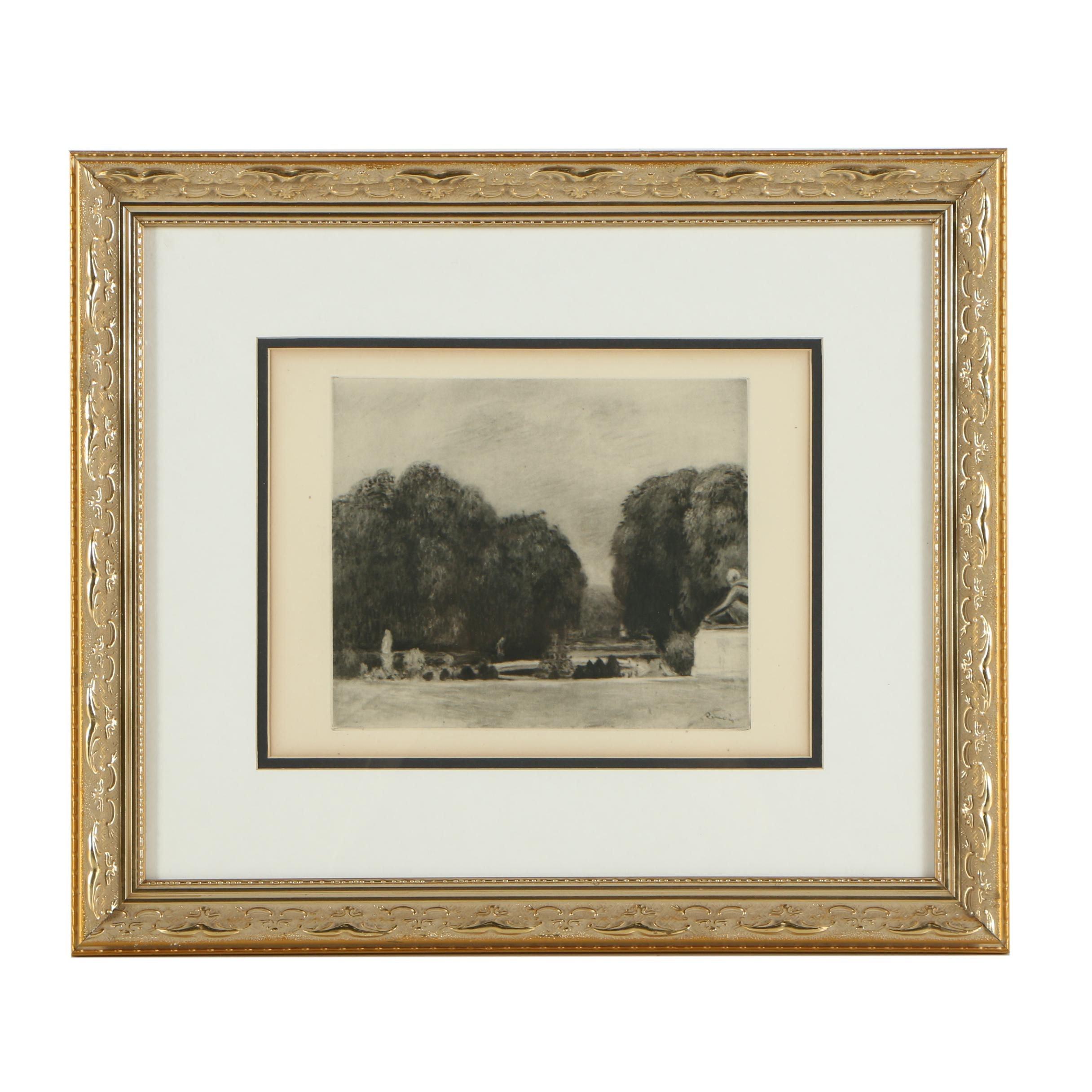 Heliogravure Print after Renoir