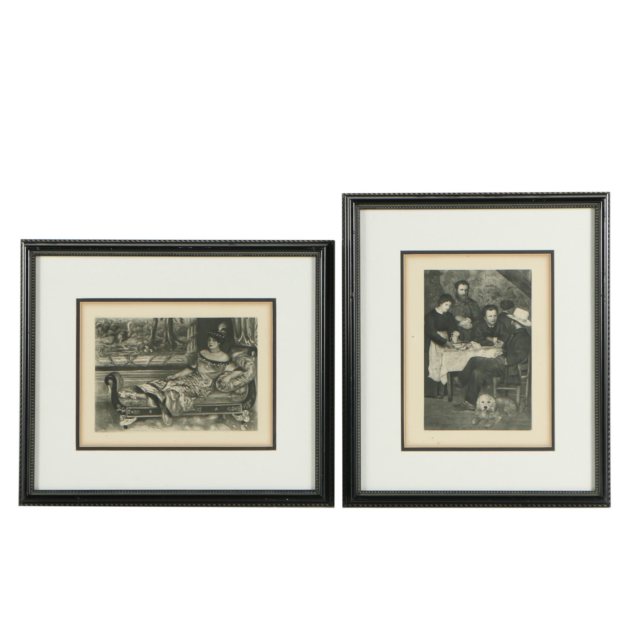 Heliogravure Prints after Renoir