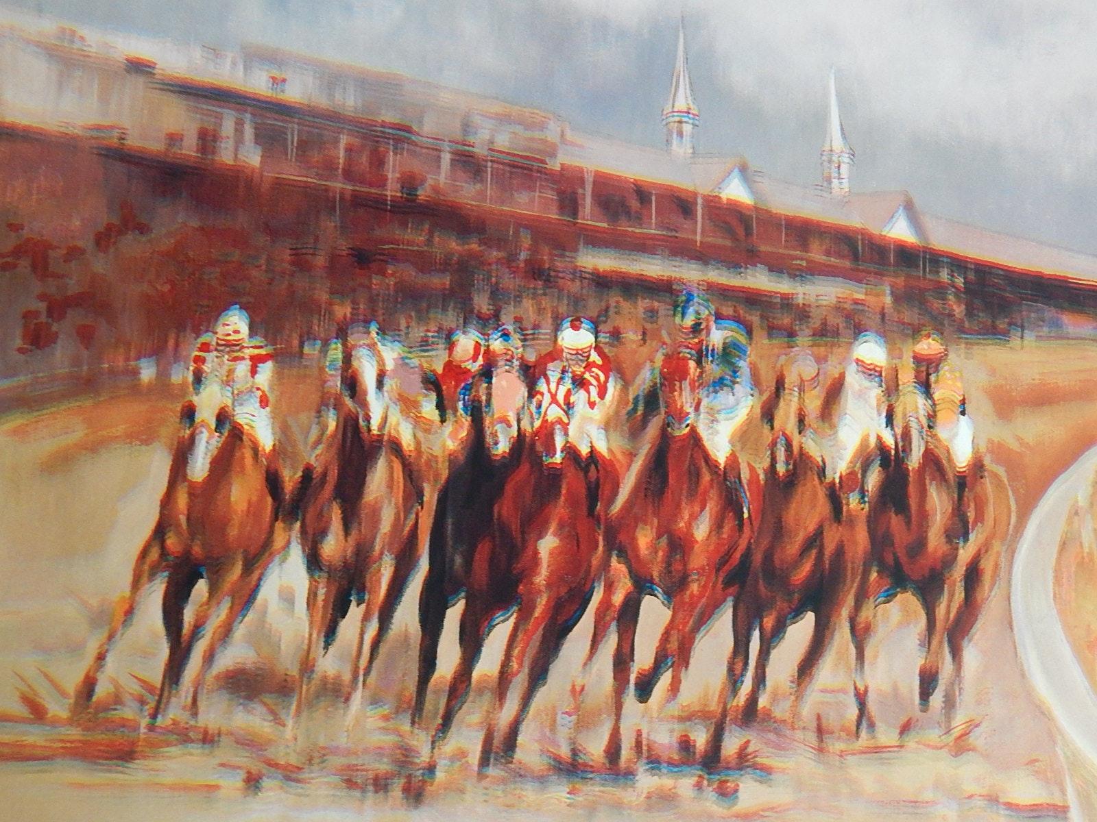 Unframed Kentucky Derby Poster Print