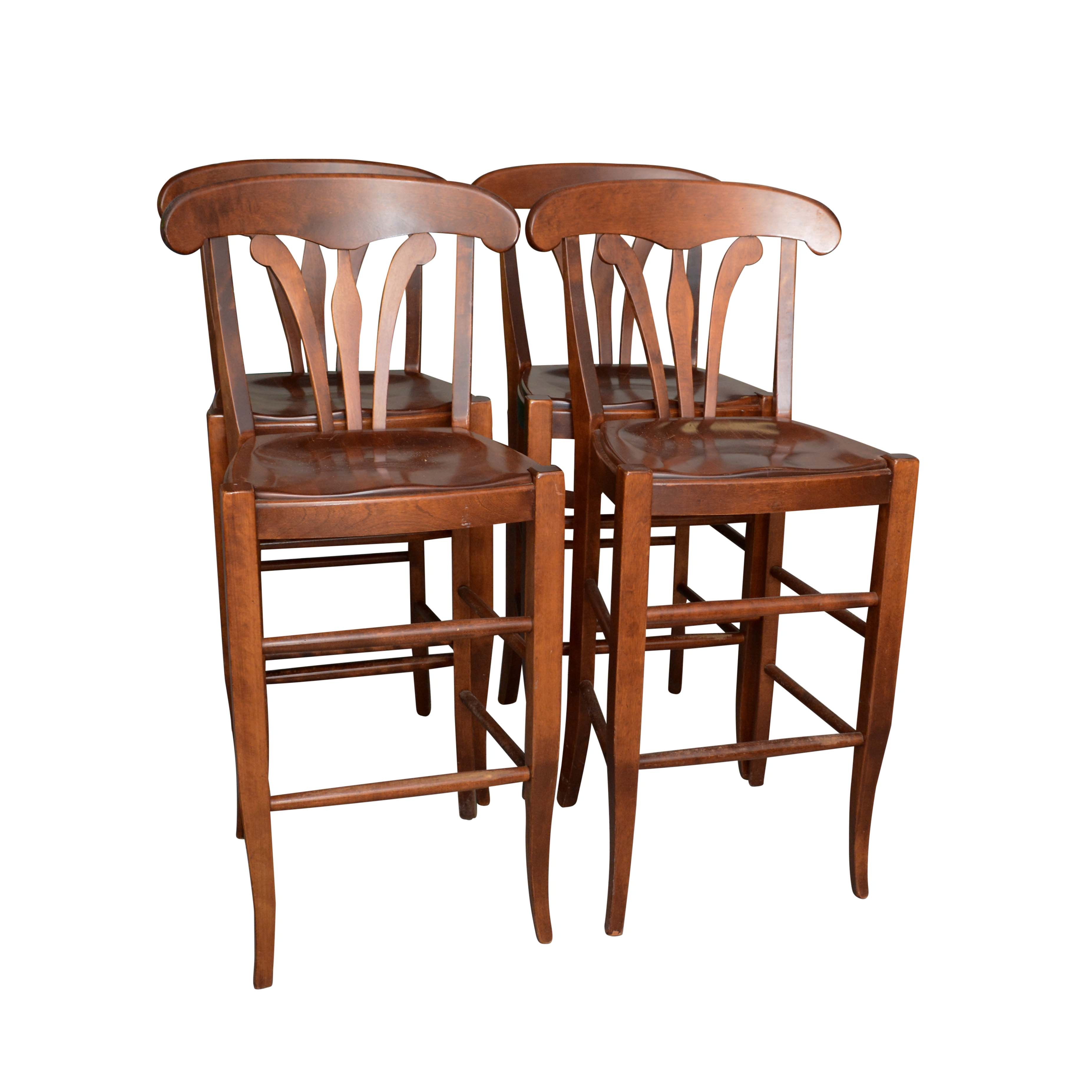"""""""Country Manor"""" Birch Barstools by Nichols & Stone"""