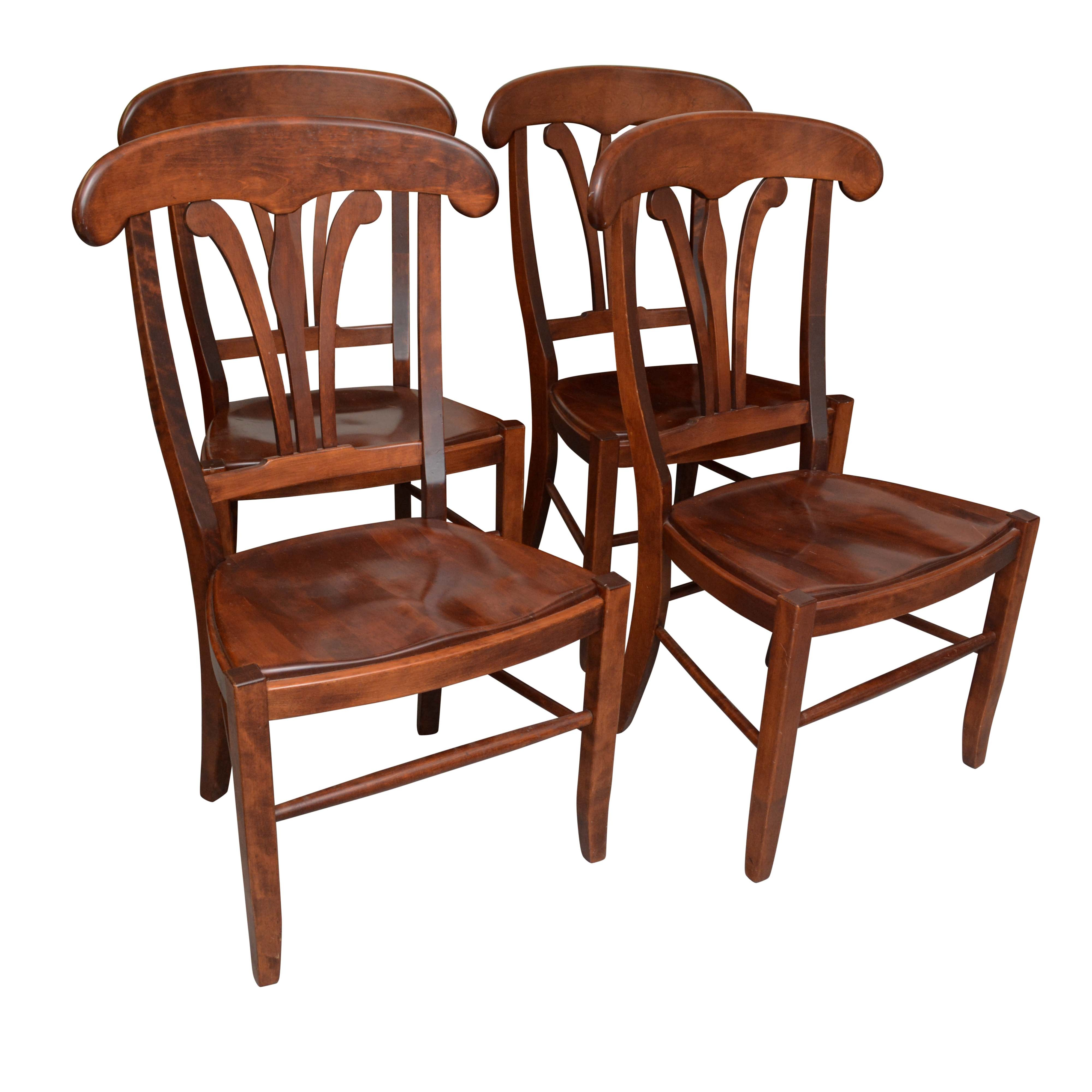 """""""Country Manor"""" Birch Side Chairs by Nichols & Stone"""
