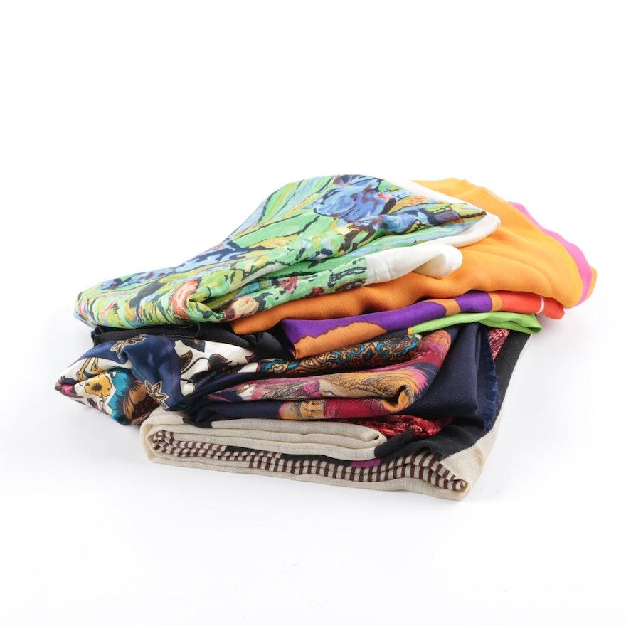 3d77d0a4cbea Women s Fashion Scarves Including Anne Klein and Adrienne Landau   EBTH