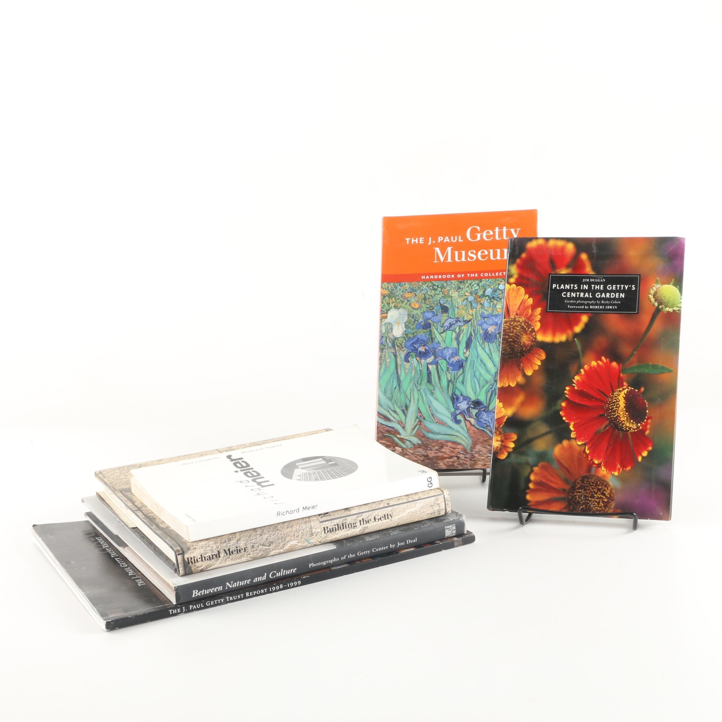 Getty Central Garden Book Collection