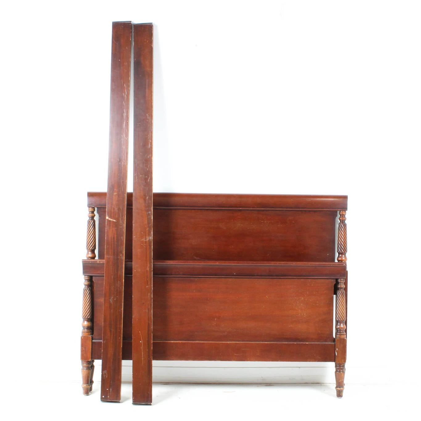 Solid Cherry Wood Bed Frame