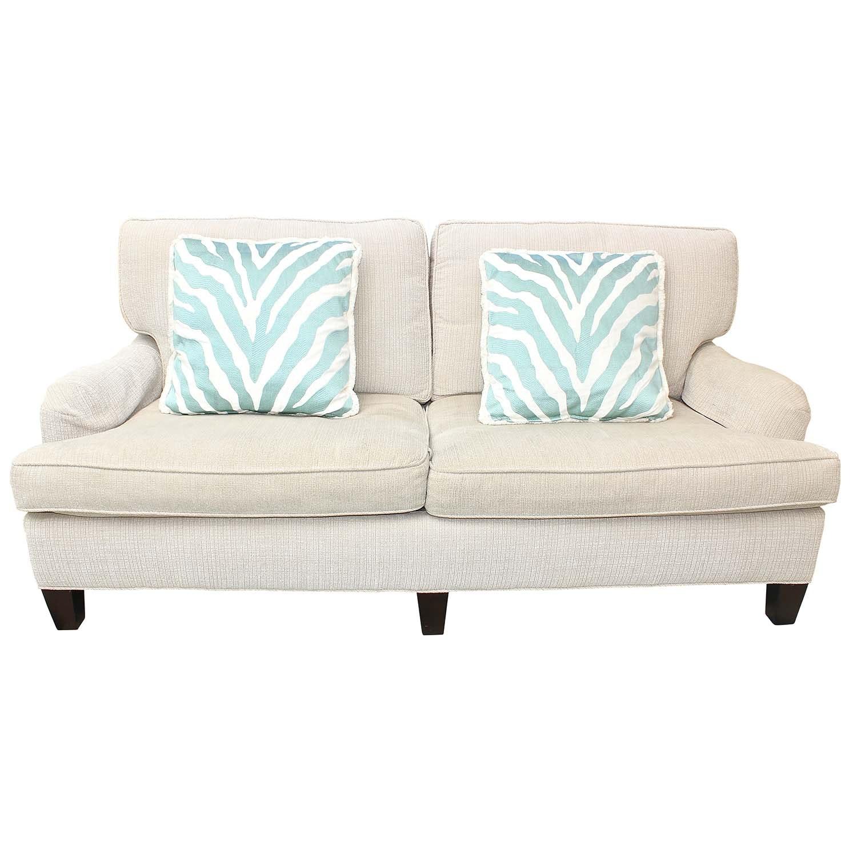 "Lee Industries ""Earth Friendly"" Upholstered Loveseat Sofa"