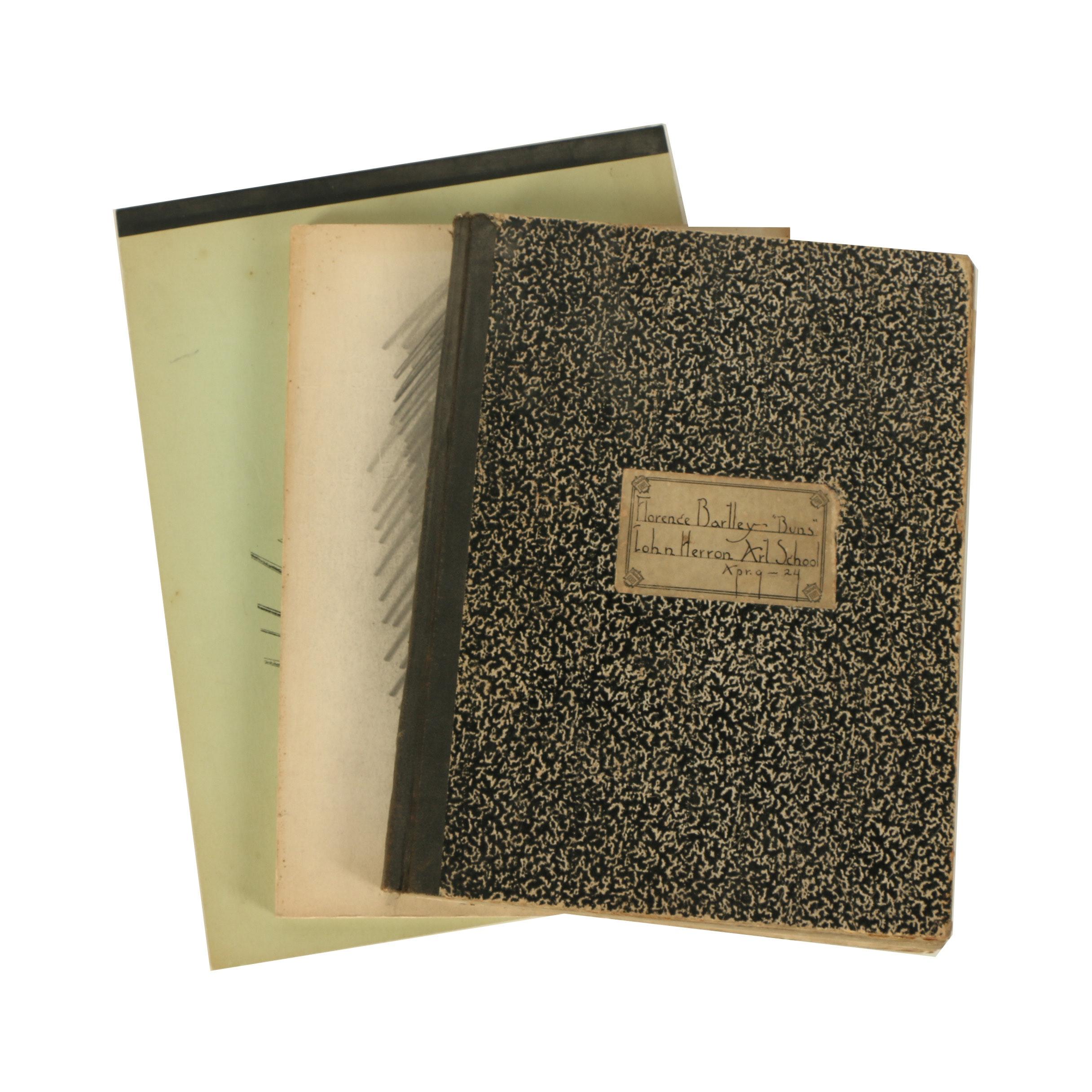 Florence B. Smithburn Sketchbooks