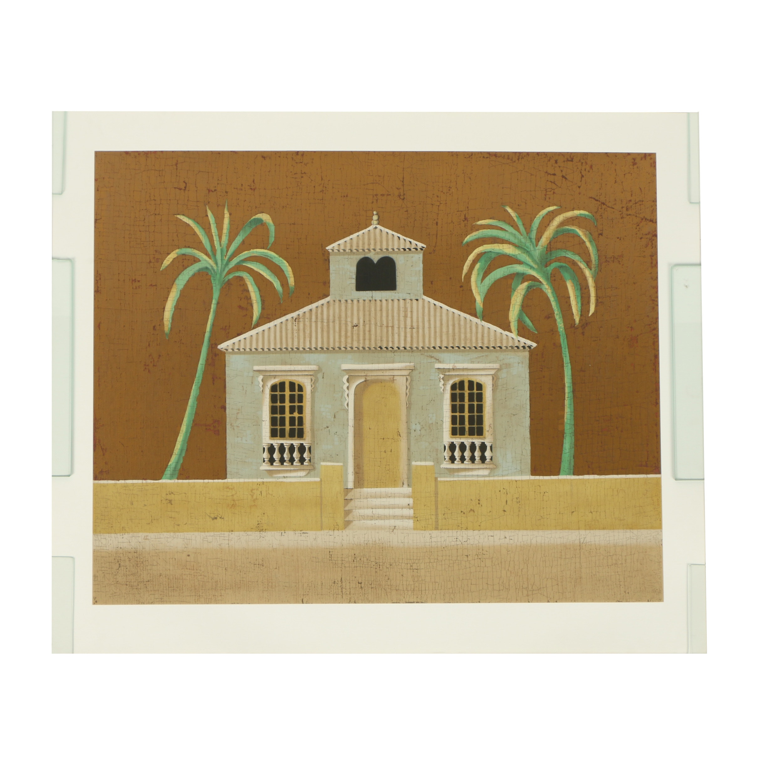 "Jacques Lamy Serigraph ""Untitled (House)"""