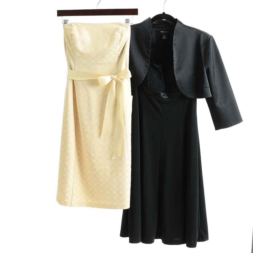 Cocktail Dresses And Shrug By White House Black Market Ebth