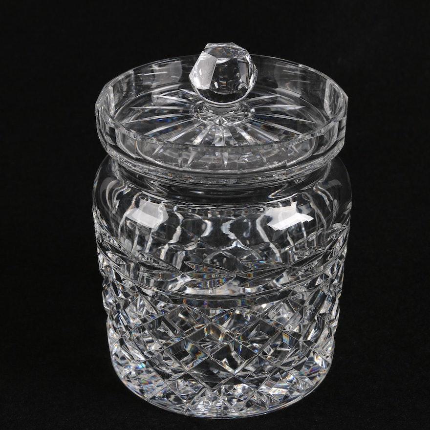 "Waterford Crystal ""Glandore"" Biscuit Barrel"