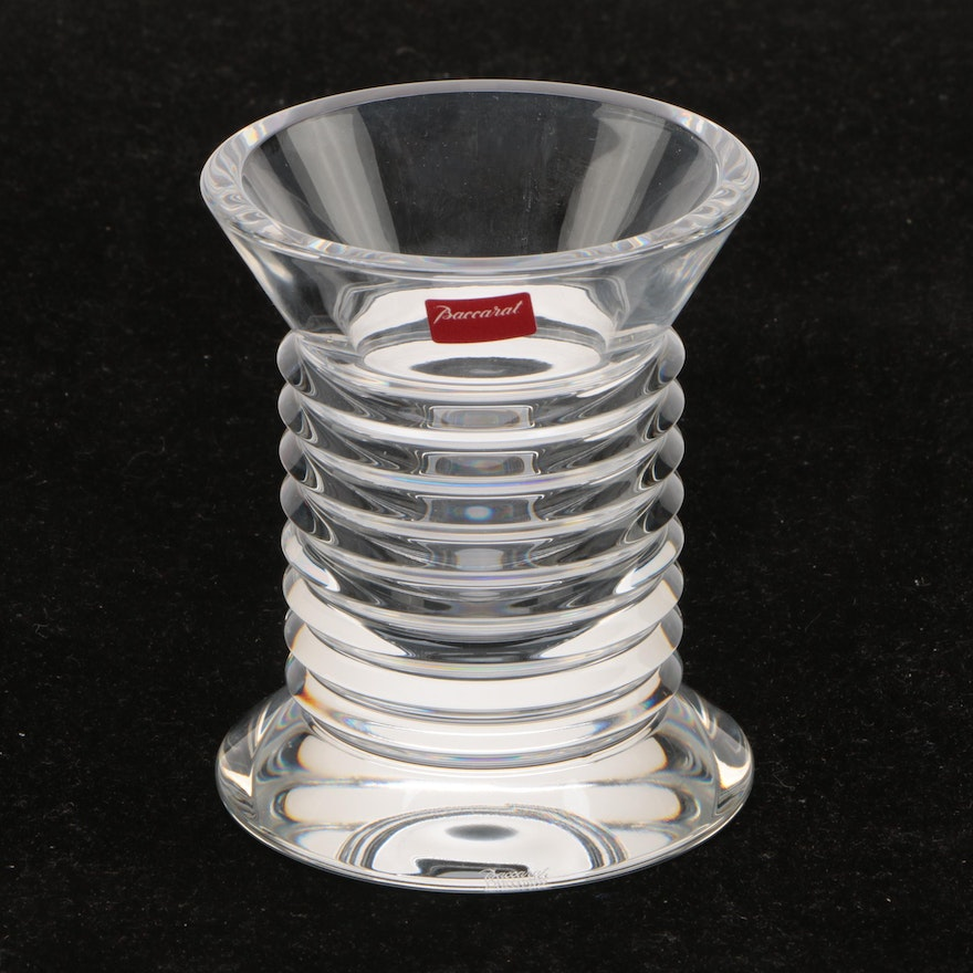 "Baccarat Crystal ""Lalande"" Pencil Holder"