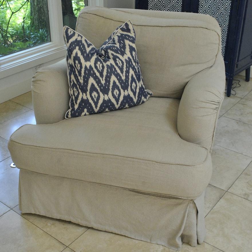 Wondrous Beige Upholstered Armchair By Quatrine Furniture Uwap Interior Chair Design Uwaporg