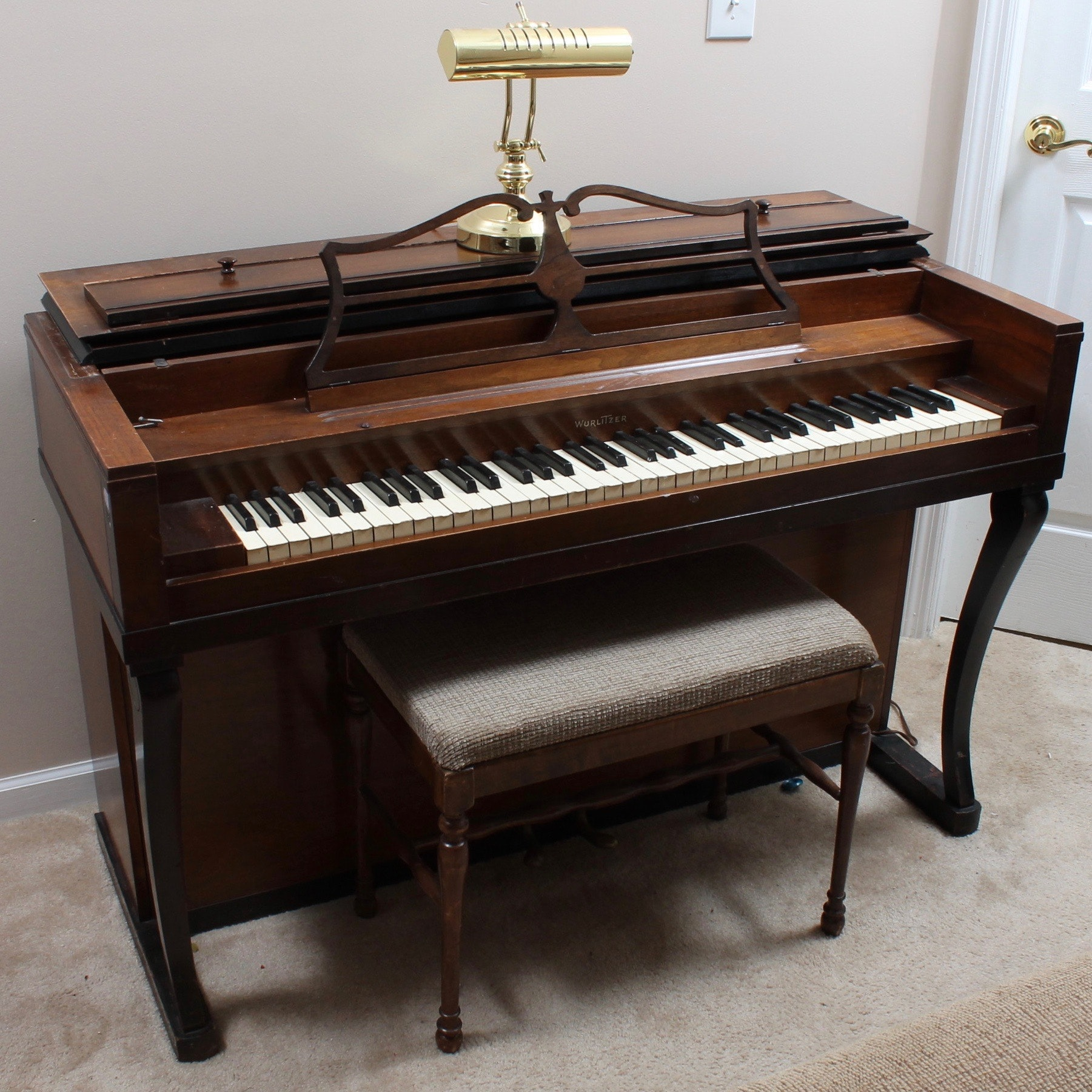 Vintage Wurlitzer Upright Piano