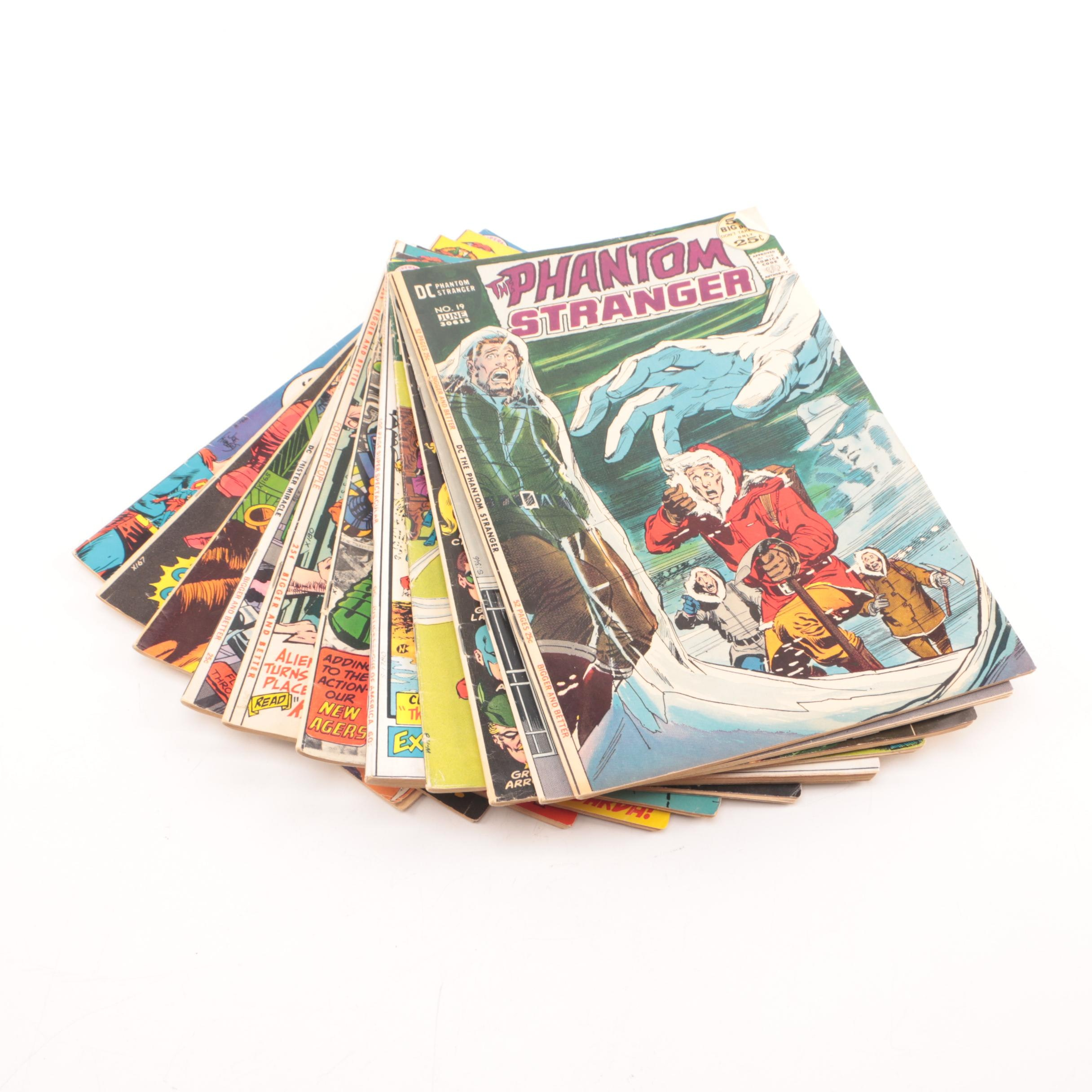 1960s-1970s DC Comic Books Including Justice League of America