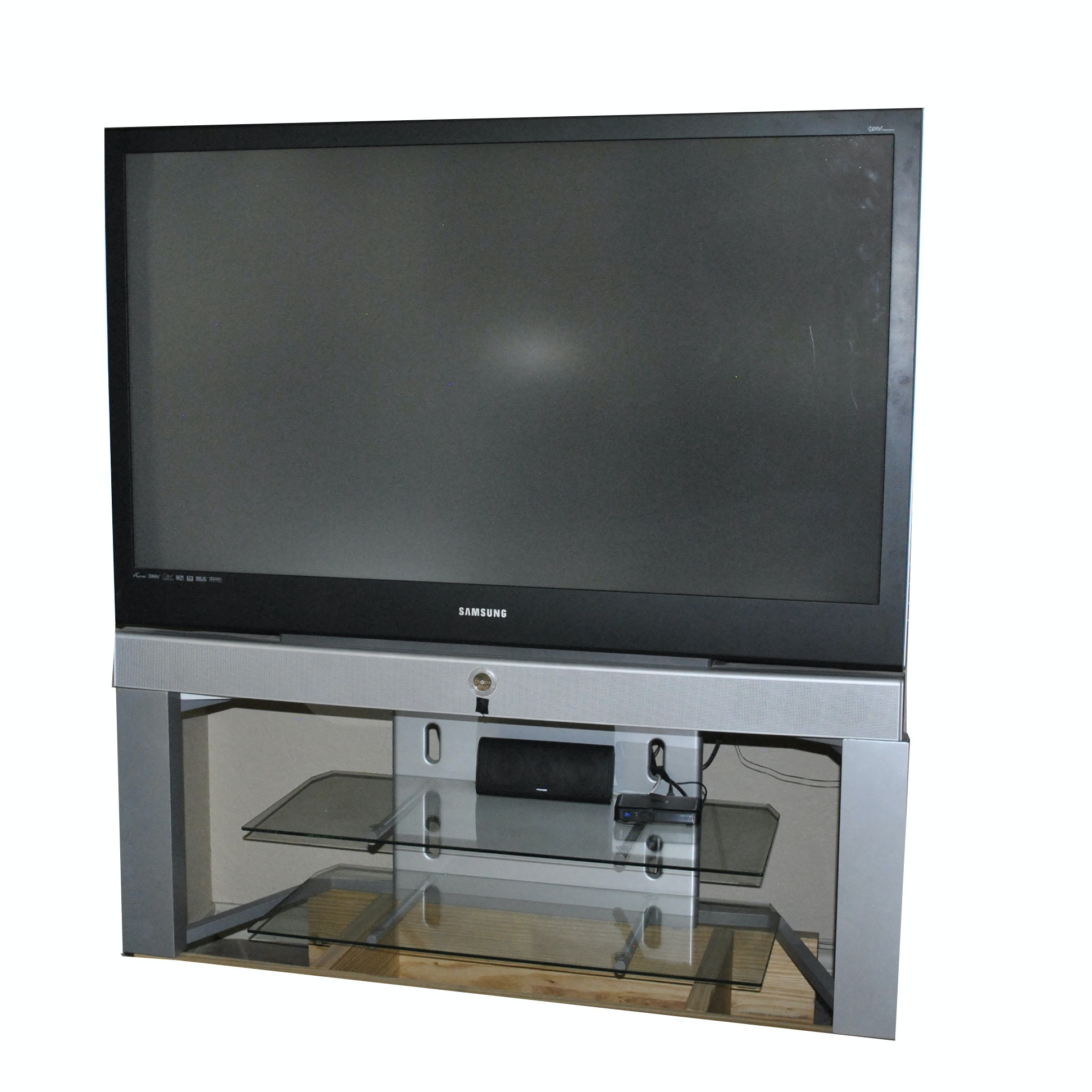 """Samsung 55"""" Flat Screen Television with Stand"""