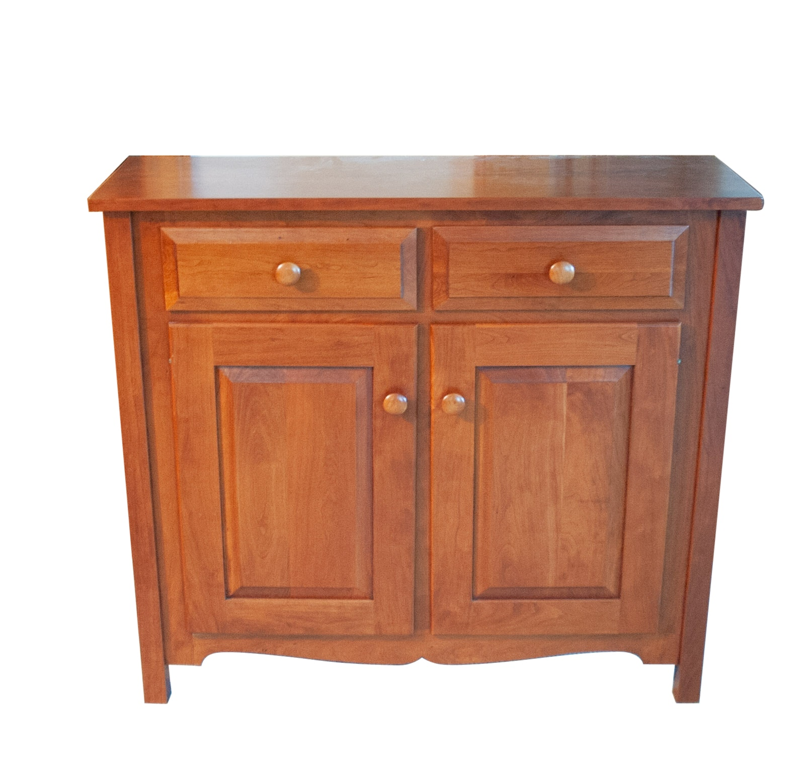 Colonial Style Cherry Cabinet by Clear Creek