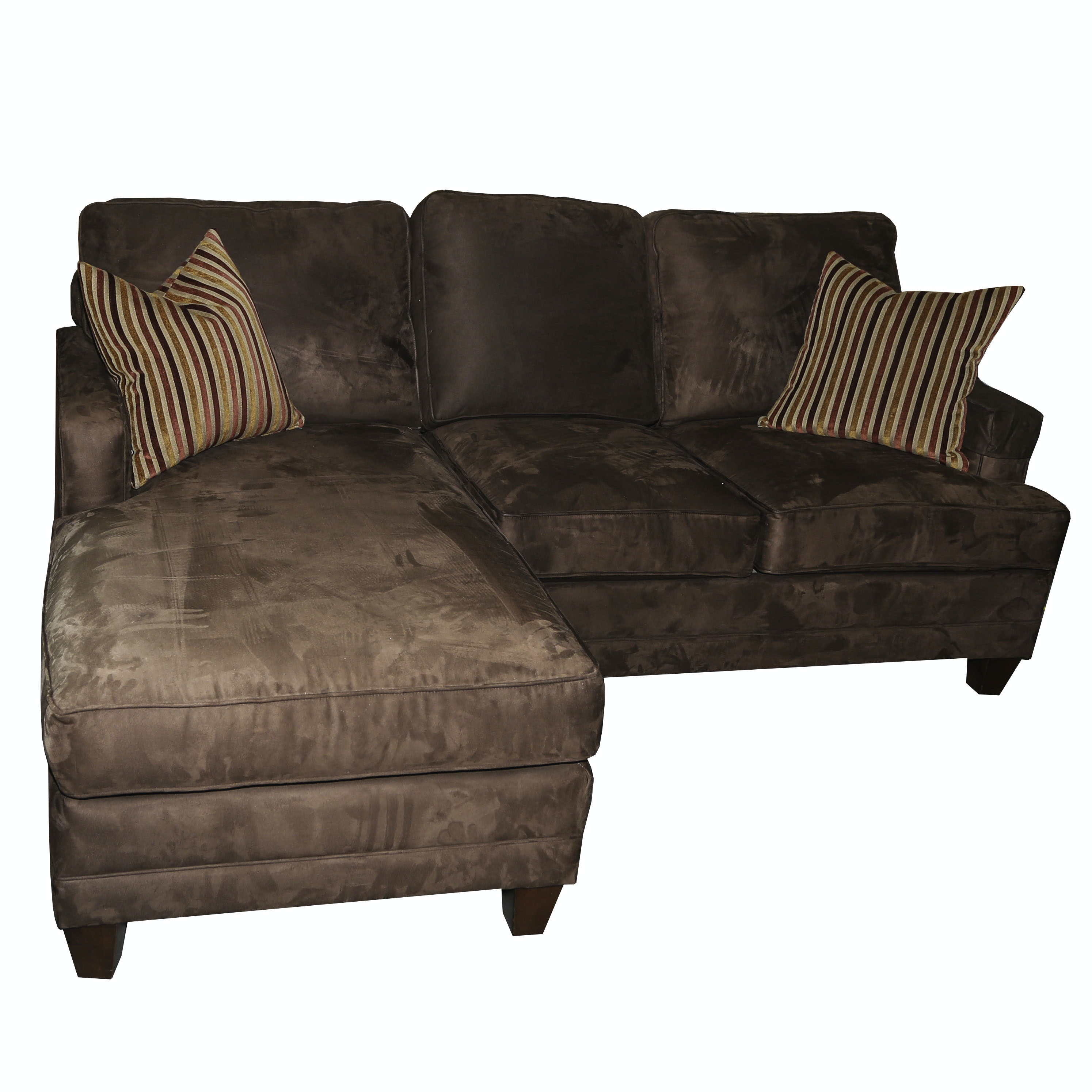 Contemporary Lounging Sofa By Bassett ...