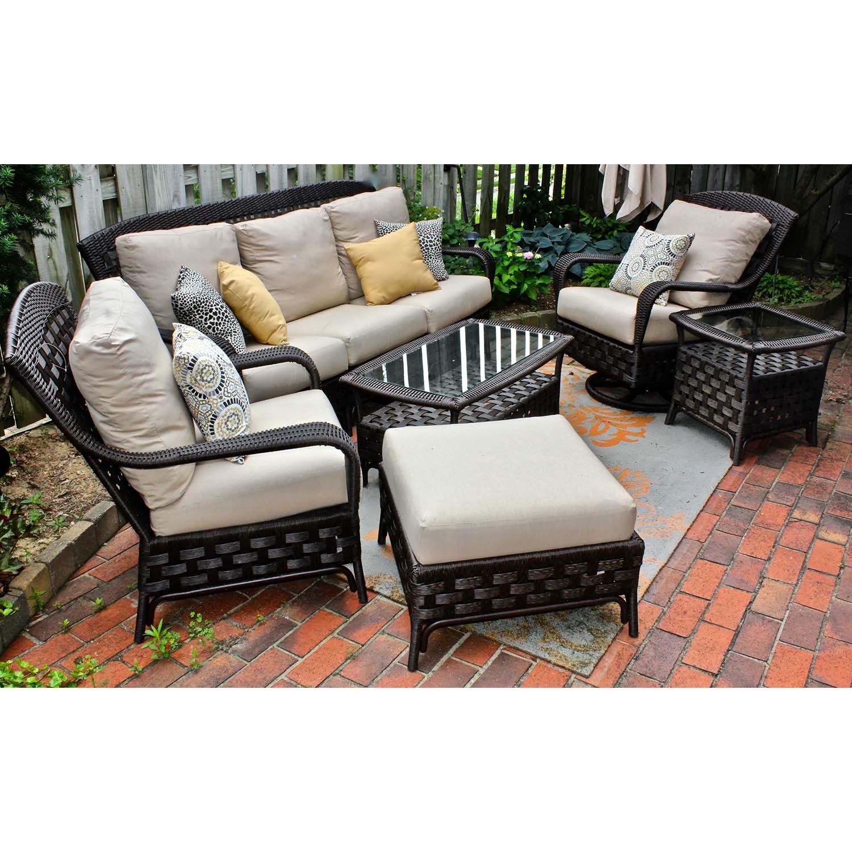 "Sunbrella Outdoor All-Weather ""Wicker"" Patio Furniture Set"