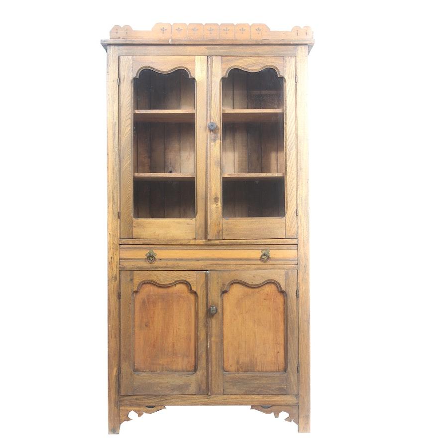 Antique Pie Safe Cupboard ... - Antique Pie Safe Cupboard : EBTH