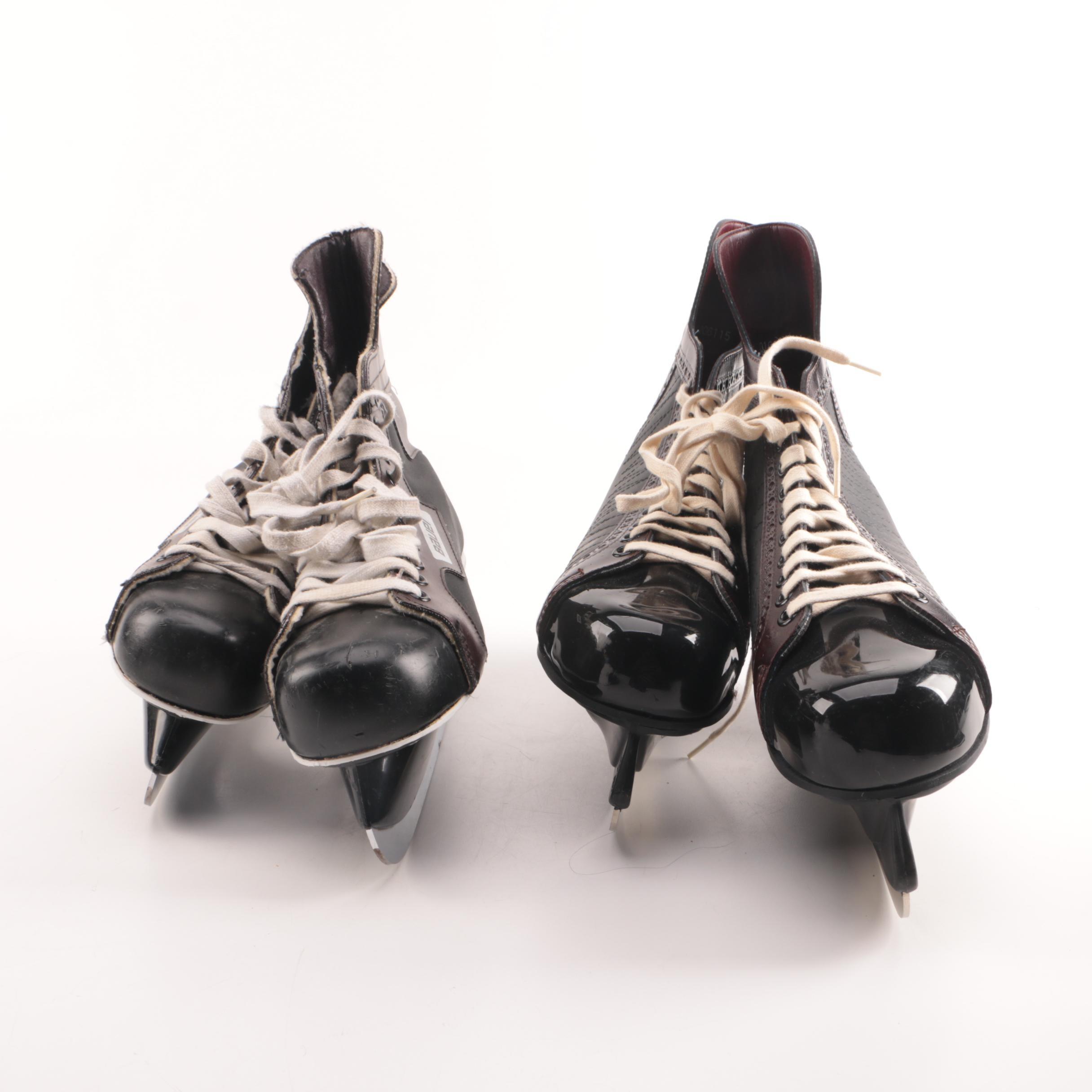 Hockey Ice Skates, Including Bauer