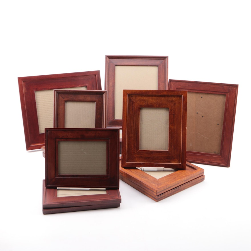 30aa011ca363 Assorted Wooden Picture Frames   EBTH