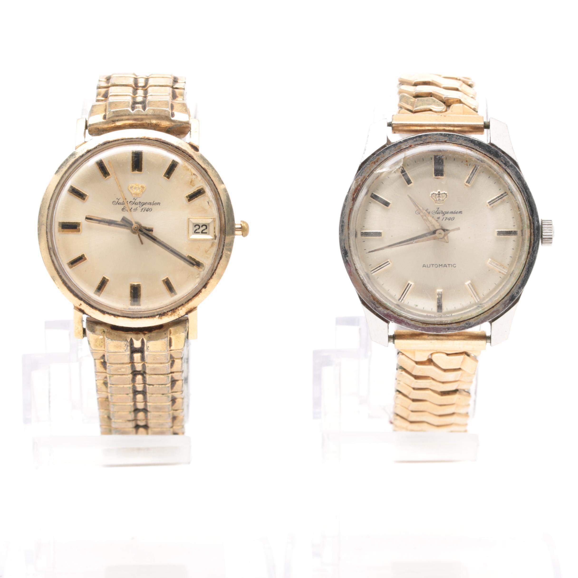 Vintage Jules Jurgensen Wristwatches