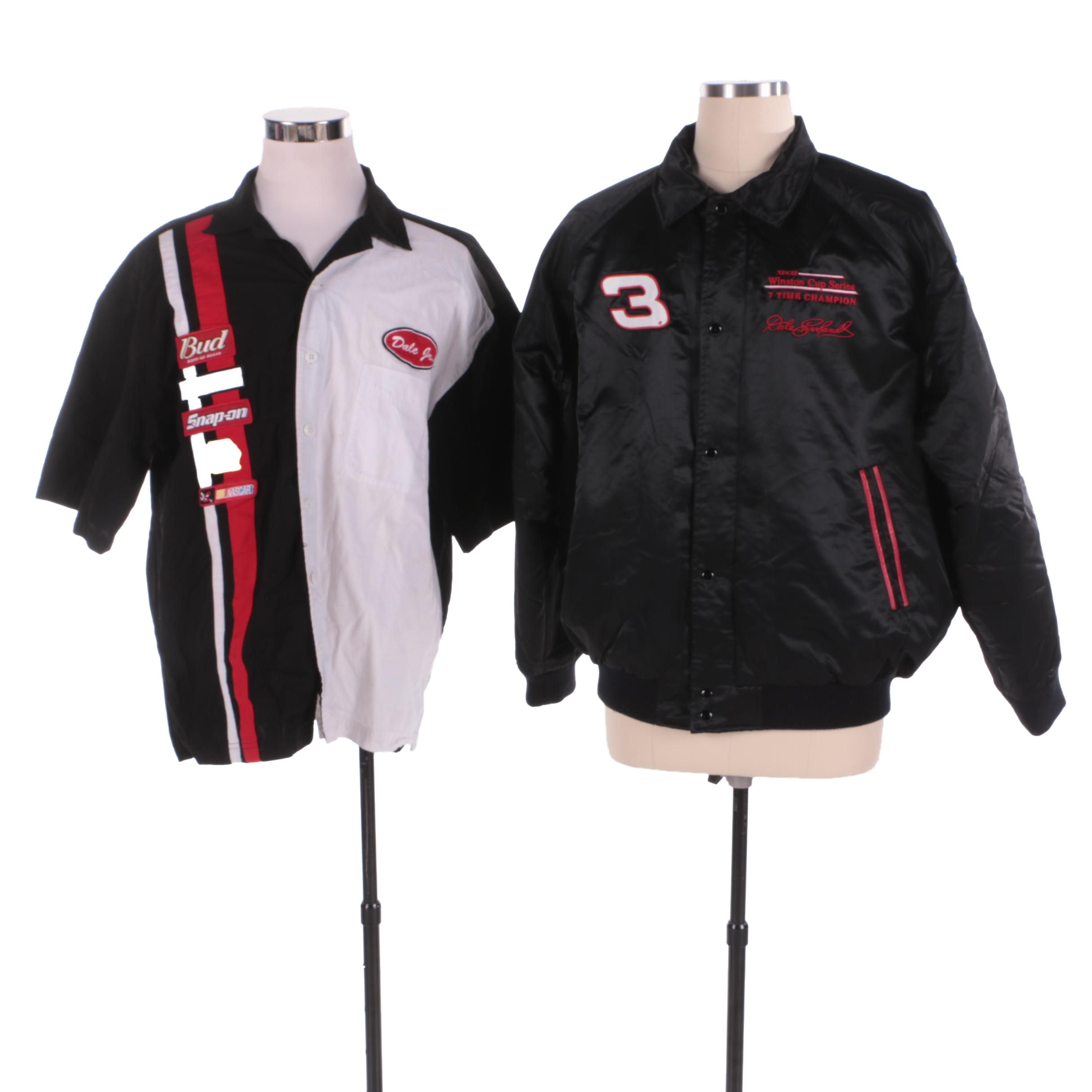 Dale Earnhardt Jr. Jacket and Short-Sleeve Button Down Shirt