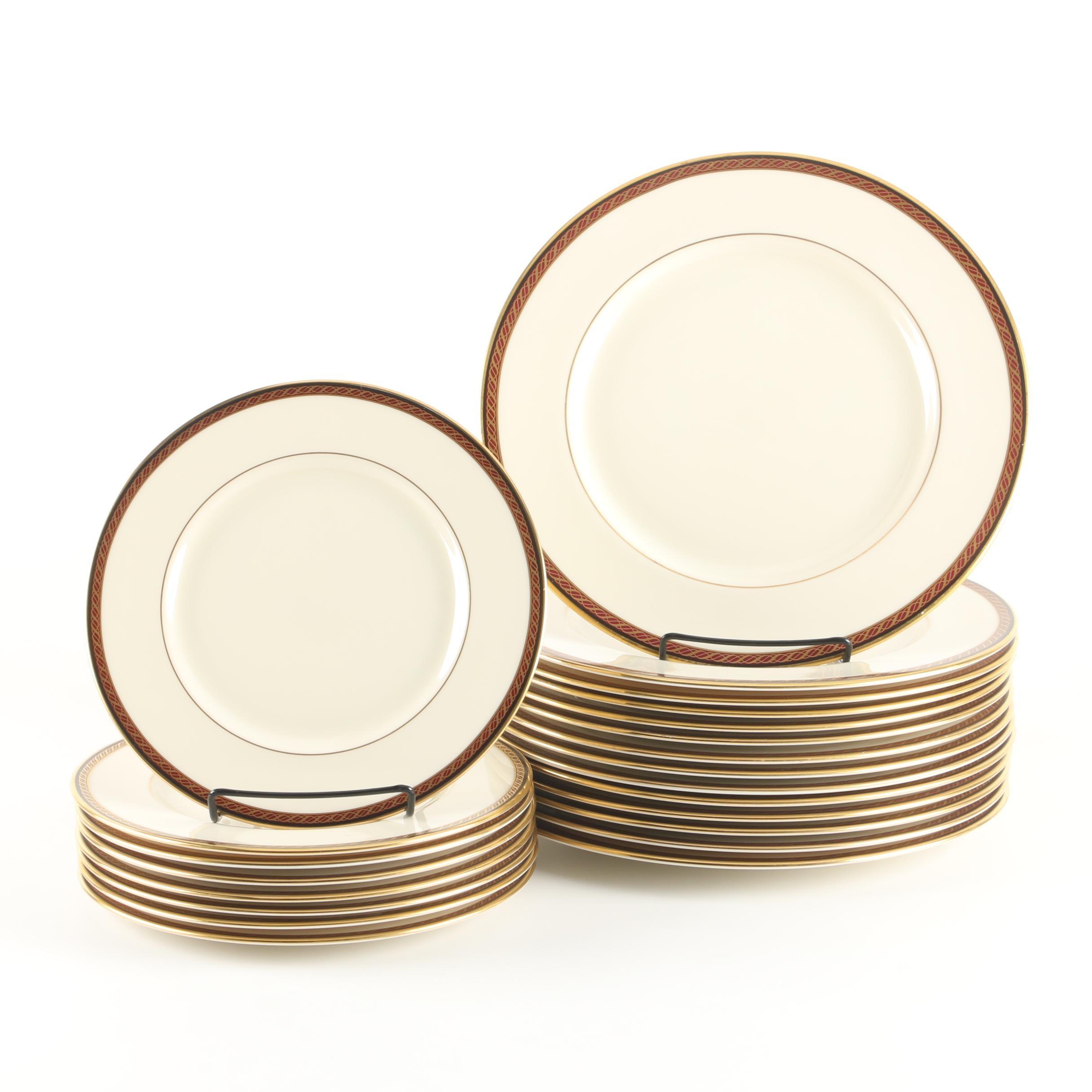 "Vintage Lenox ""Monroe"" Porcelain plates ca. 1983-89"