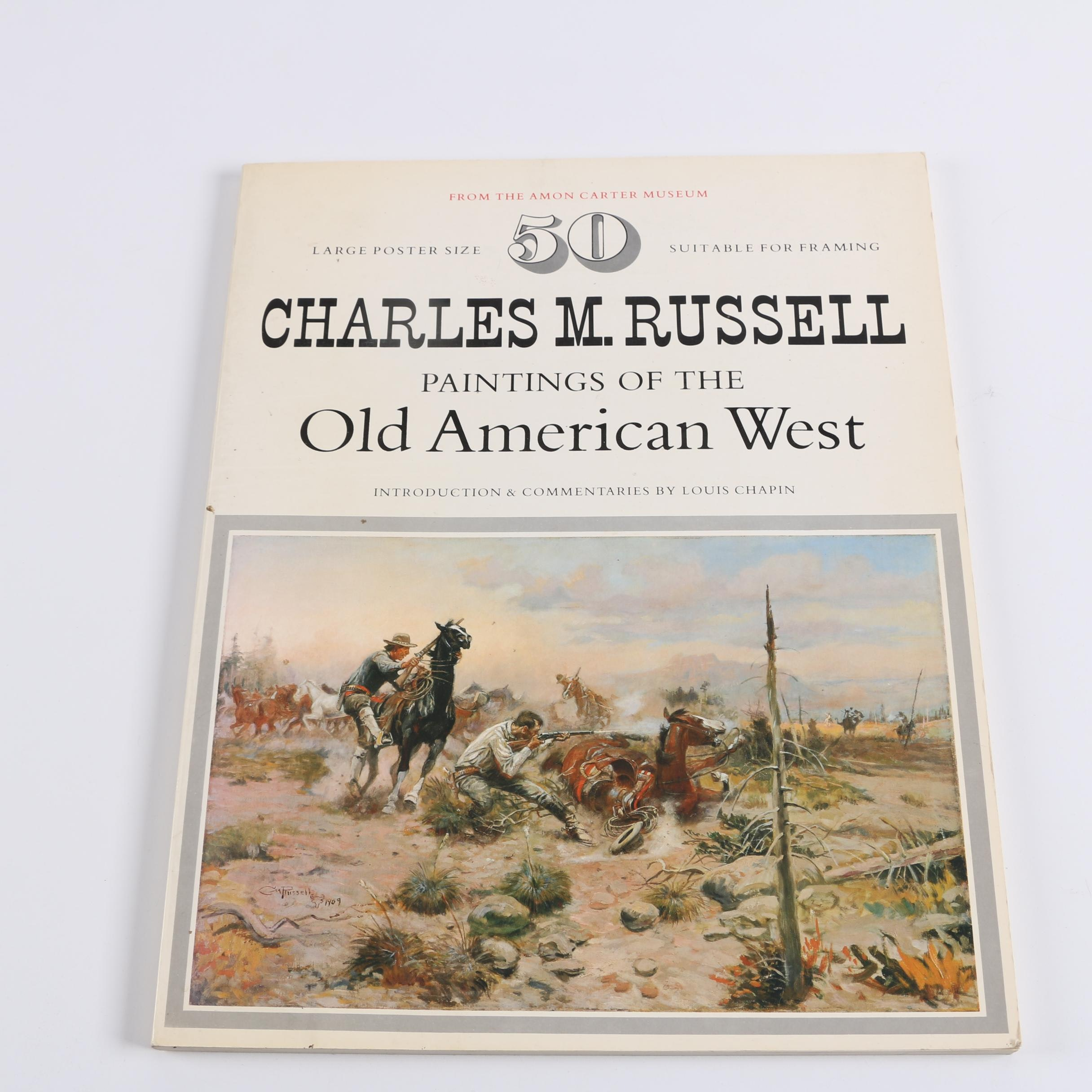 """1978 """"Charles M. Russell: Paintings of the Old American West"""" by Louis Chapin"""