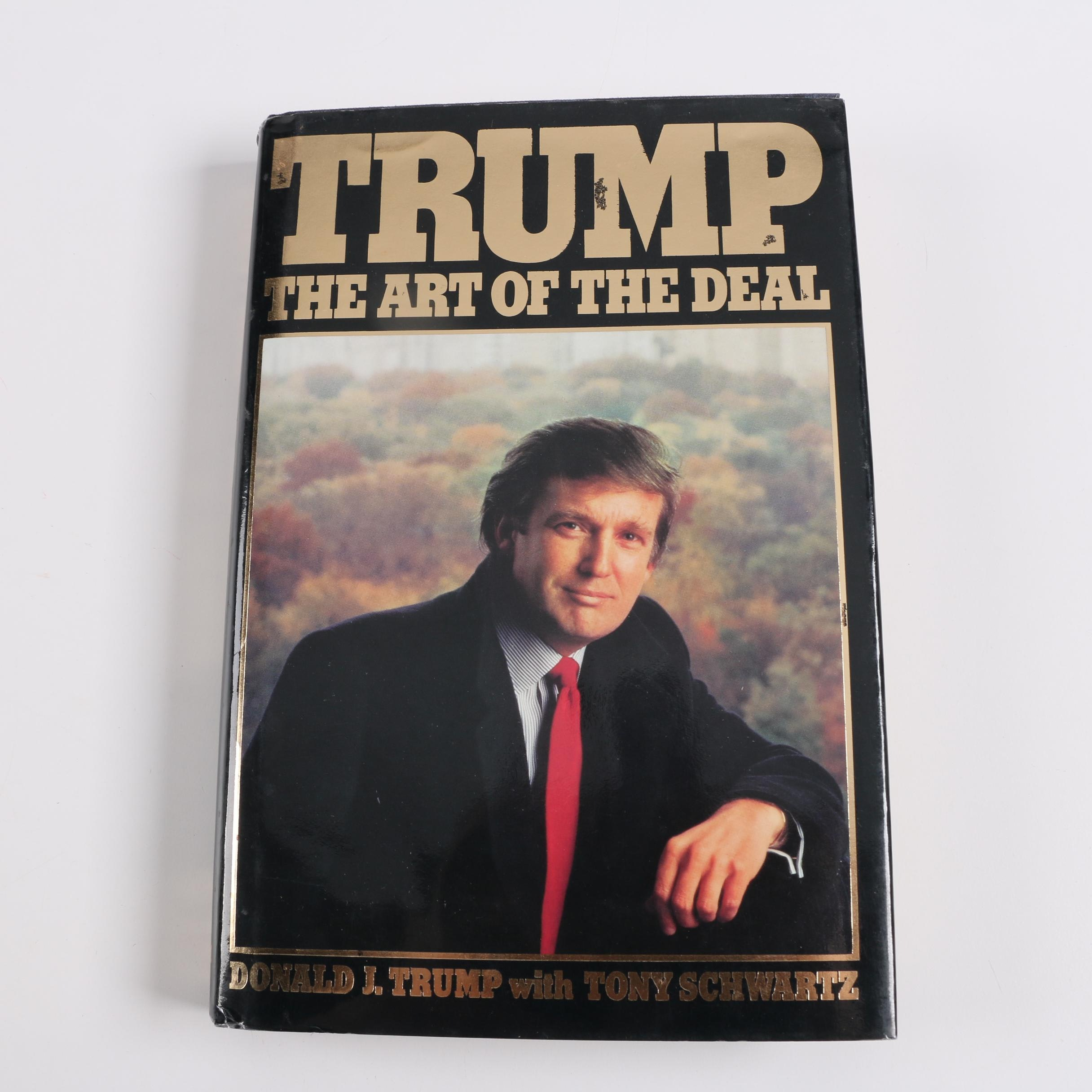 "1987 First Printing ""Trump: The Art of the Deal"""