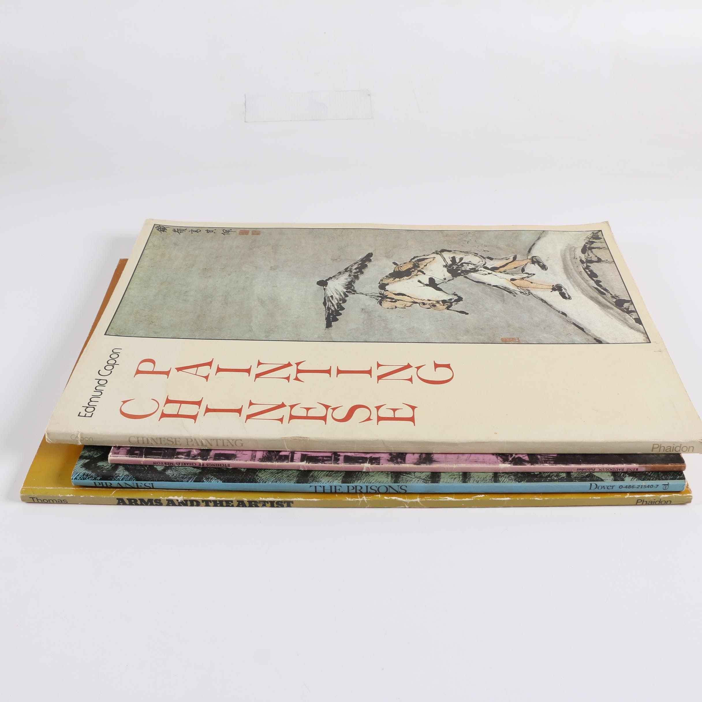 """Four Illustrated Art Books Including """"Chinese Painting"""""""