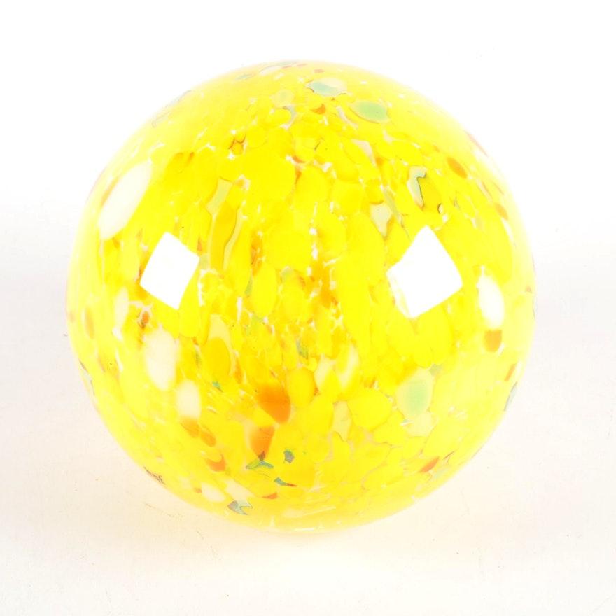 Hqt Home Design Glass Sphere Sculpture Ebth