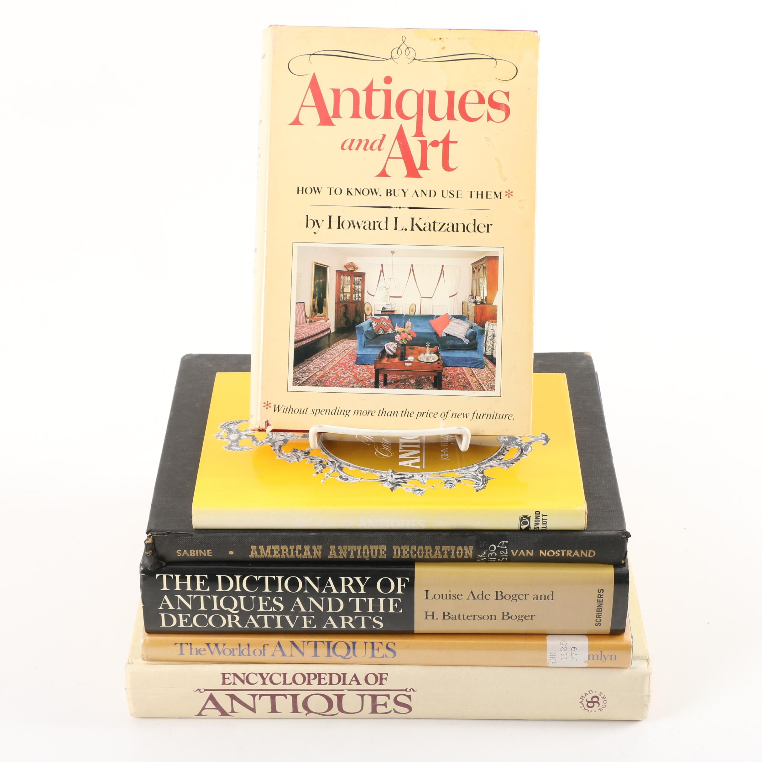 """""""Encyclopedia of Antiques"""" and Other Antique Collecting Books"""