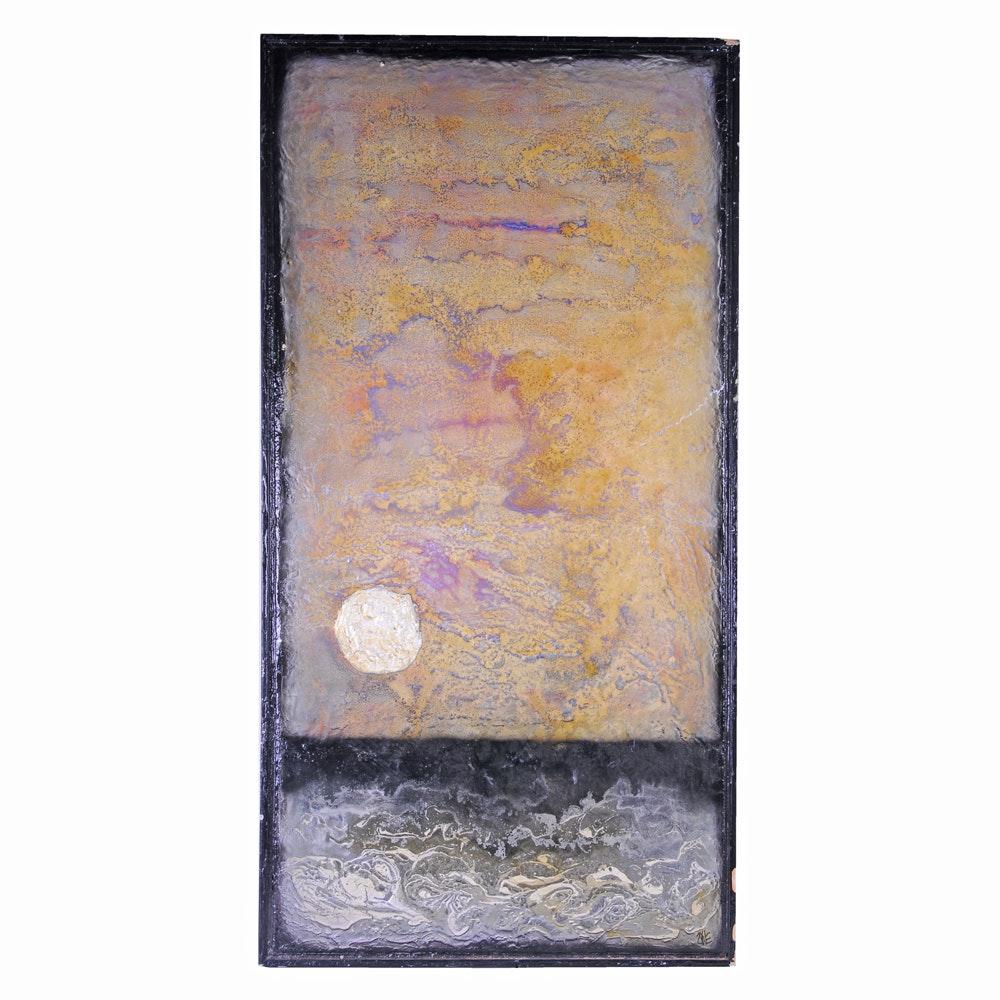 Richard Gordon Zyne Landscape Oil Painting