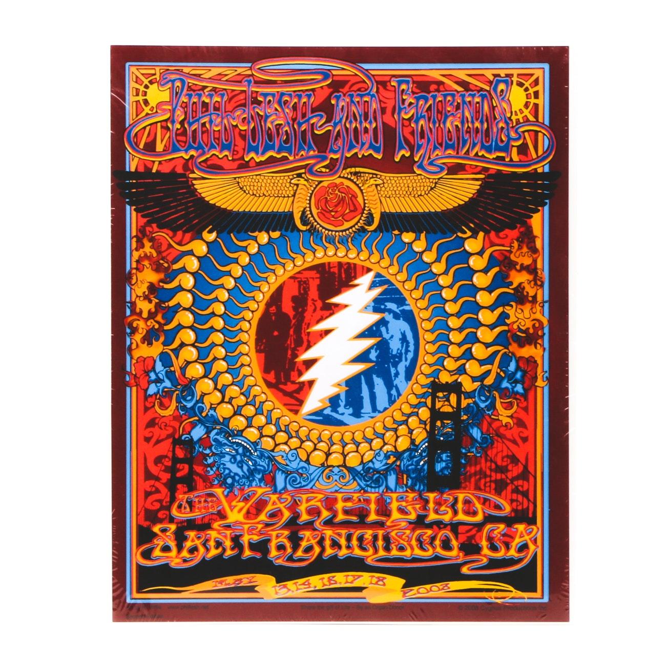 2008 Phil Lesh and Friends/Grateful Dead Concert Poster