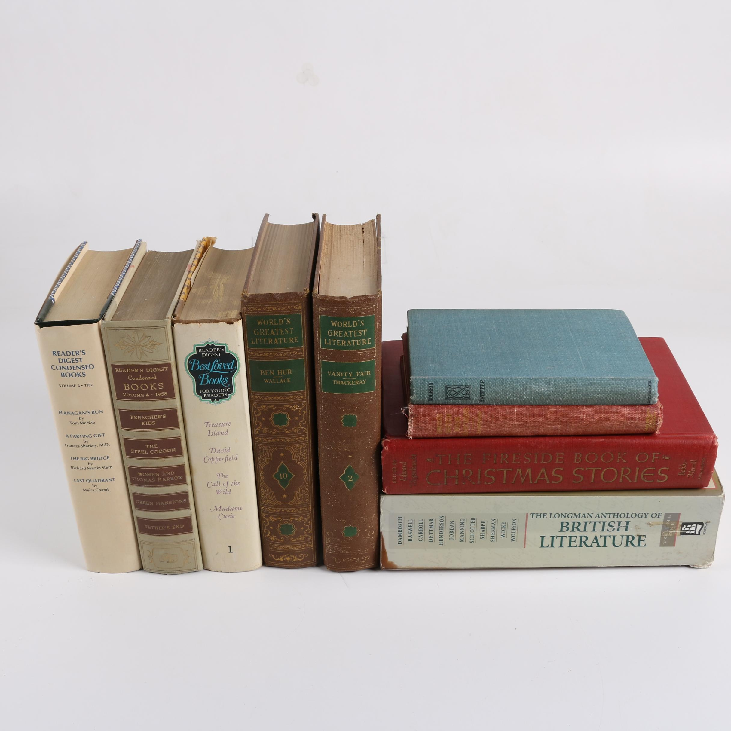 Classic Fiction Books and Anthologies