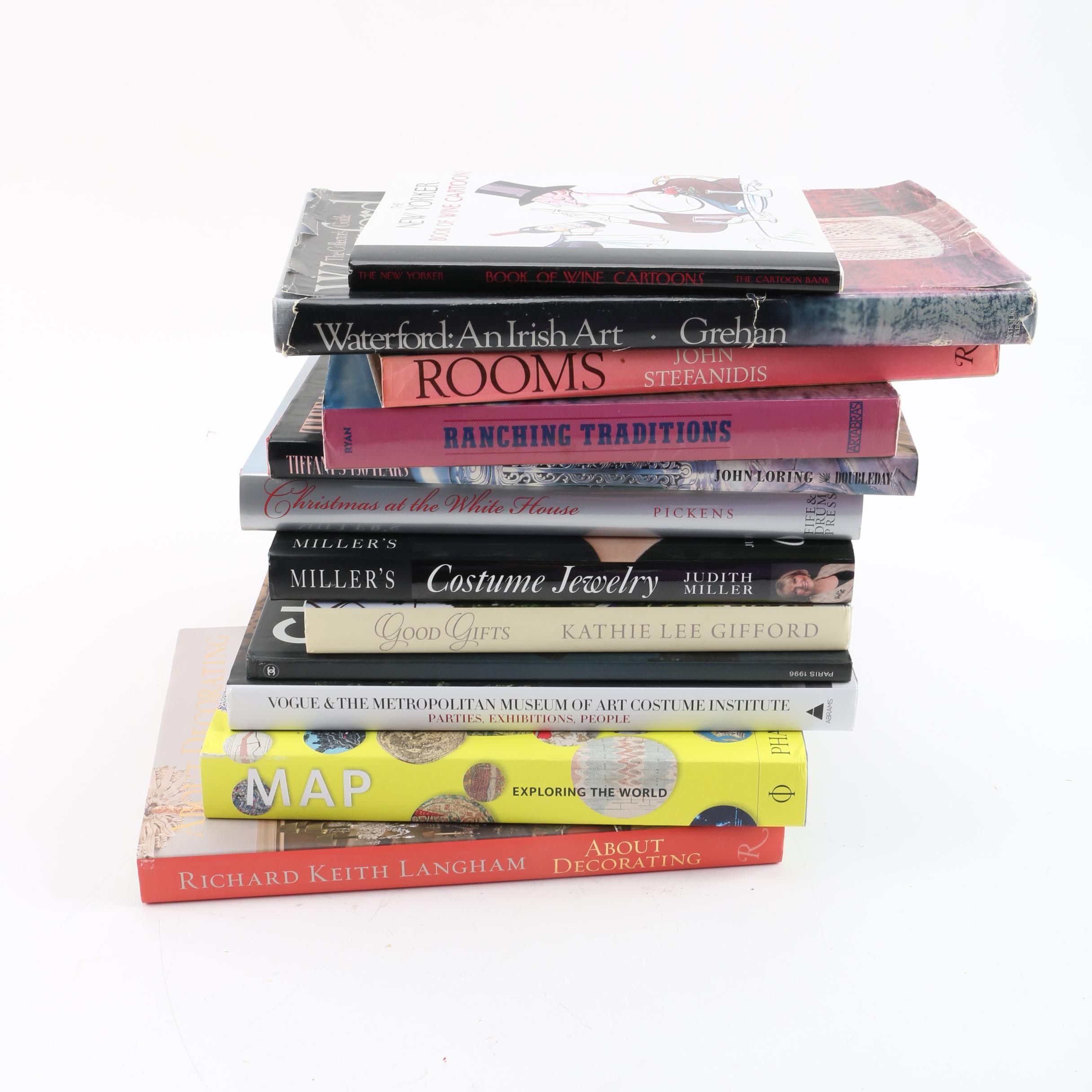 Art and Fashion Coffee Table Books