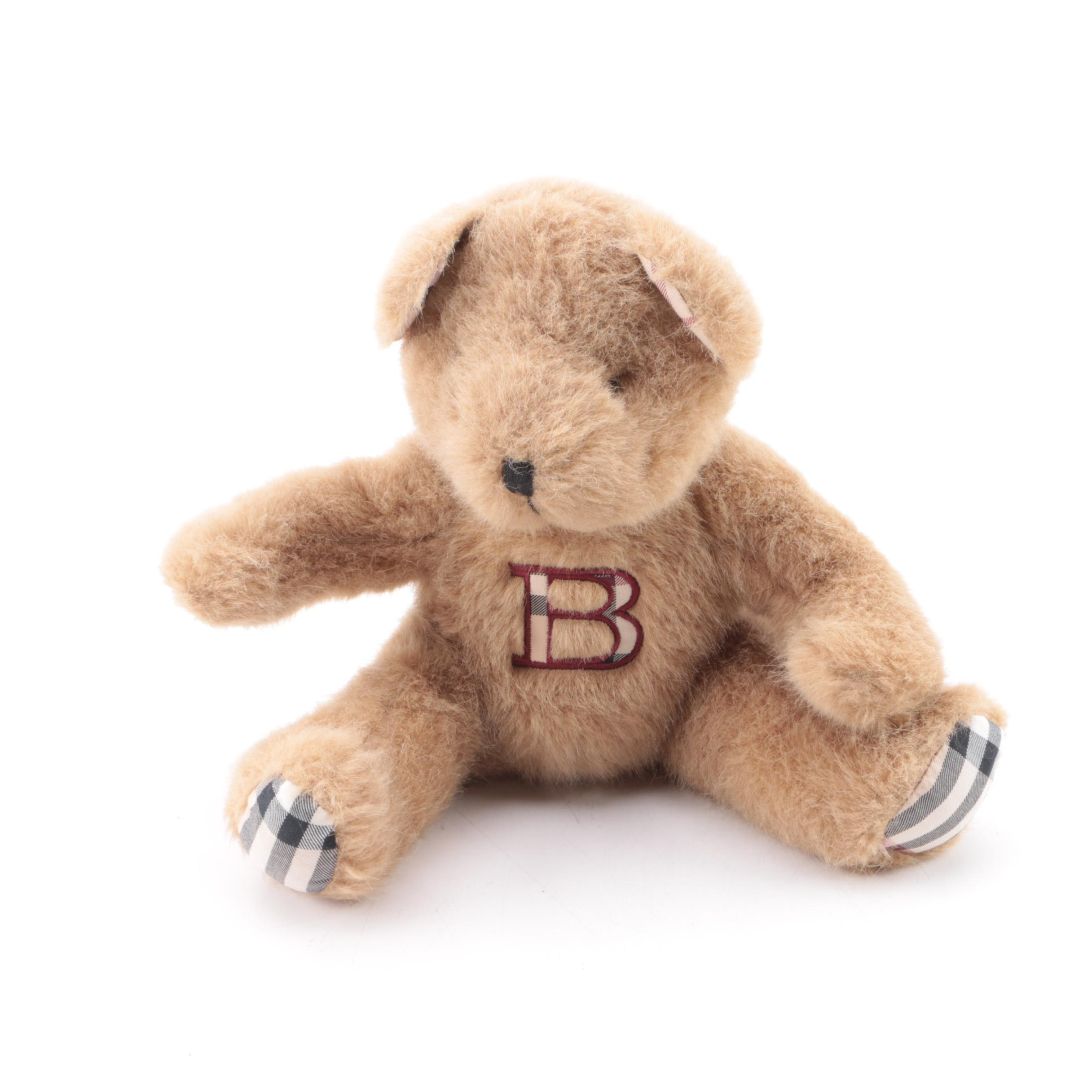 Burberry Parfums Plush Teddy Bear