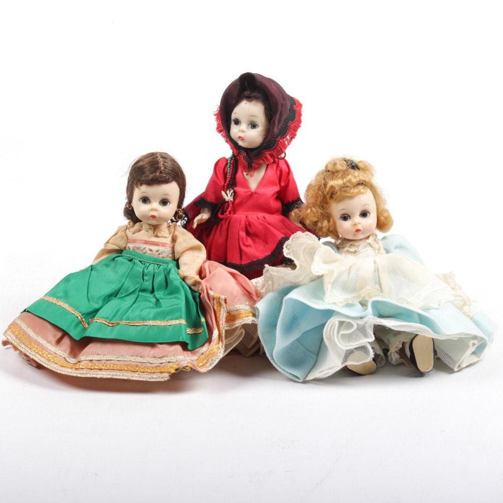 Vintage 1950-60s Madame Alexander Dolls