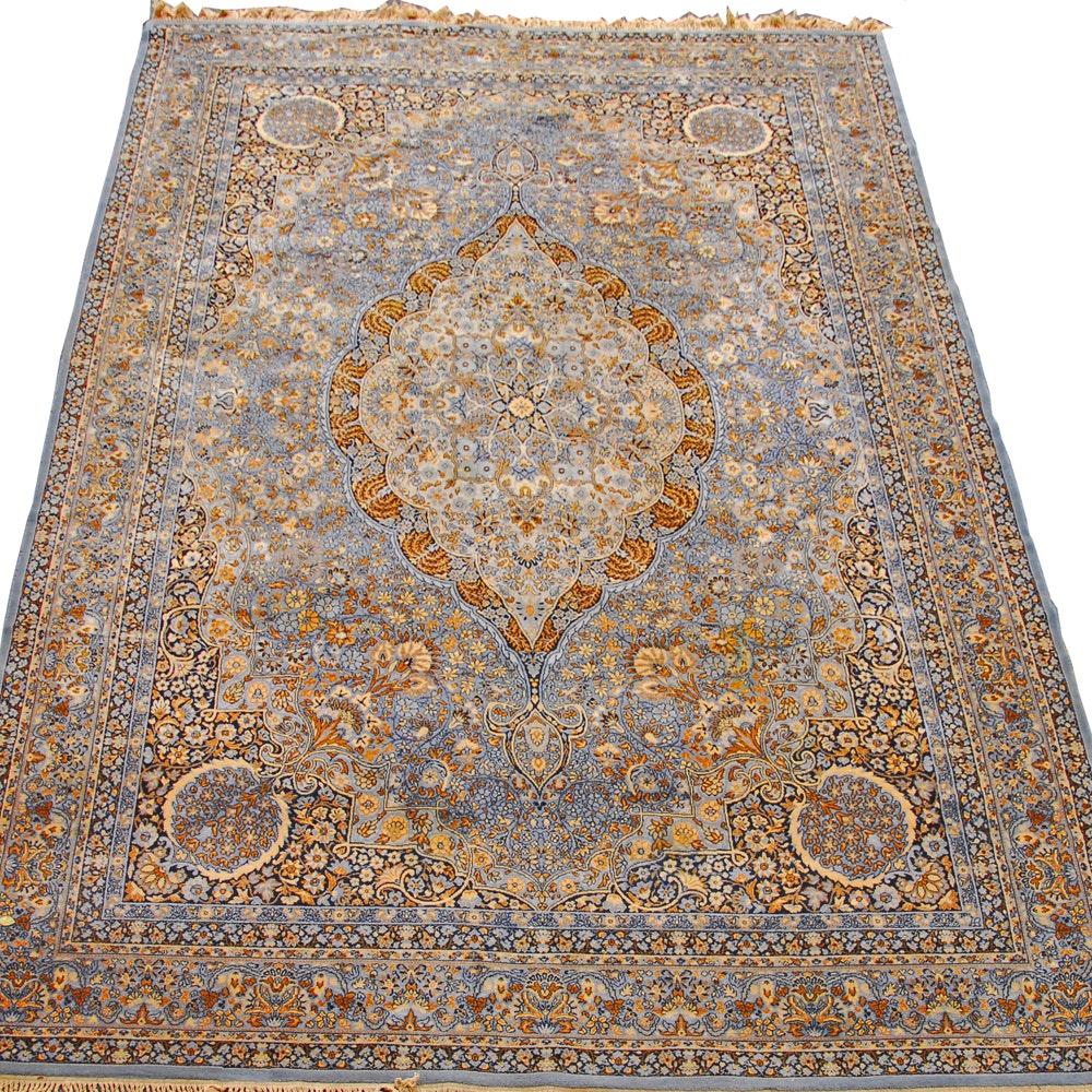 "Vintage Power-Loomed Belgian ""Kashimar"" Wool Room Sized Rug by Couristan"