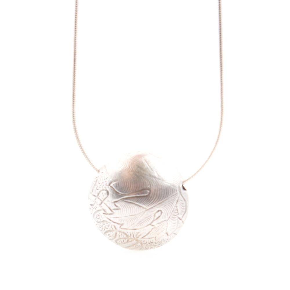 Sterling Silver Slide Pendant Necklace