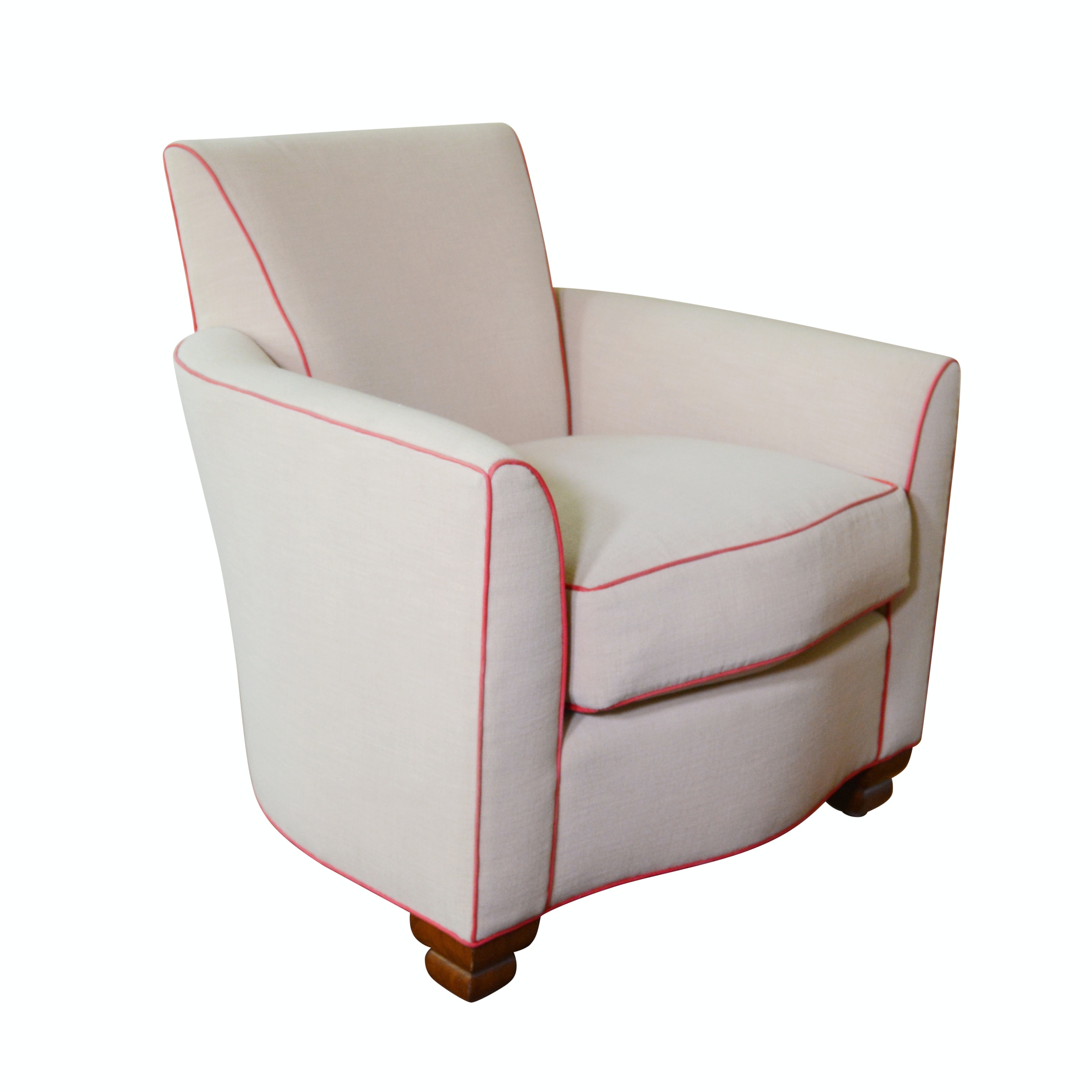 Swaim Furniture Upholstered Lounge Chair ...