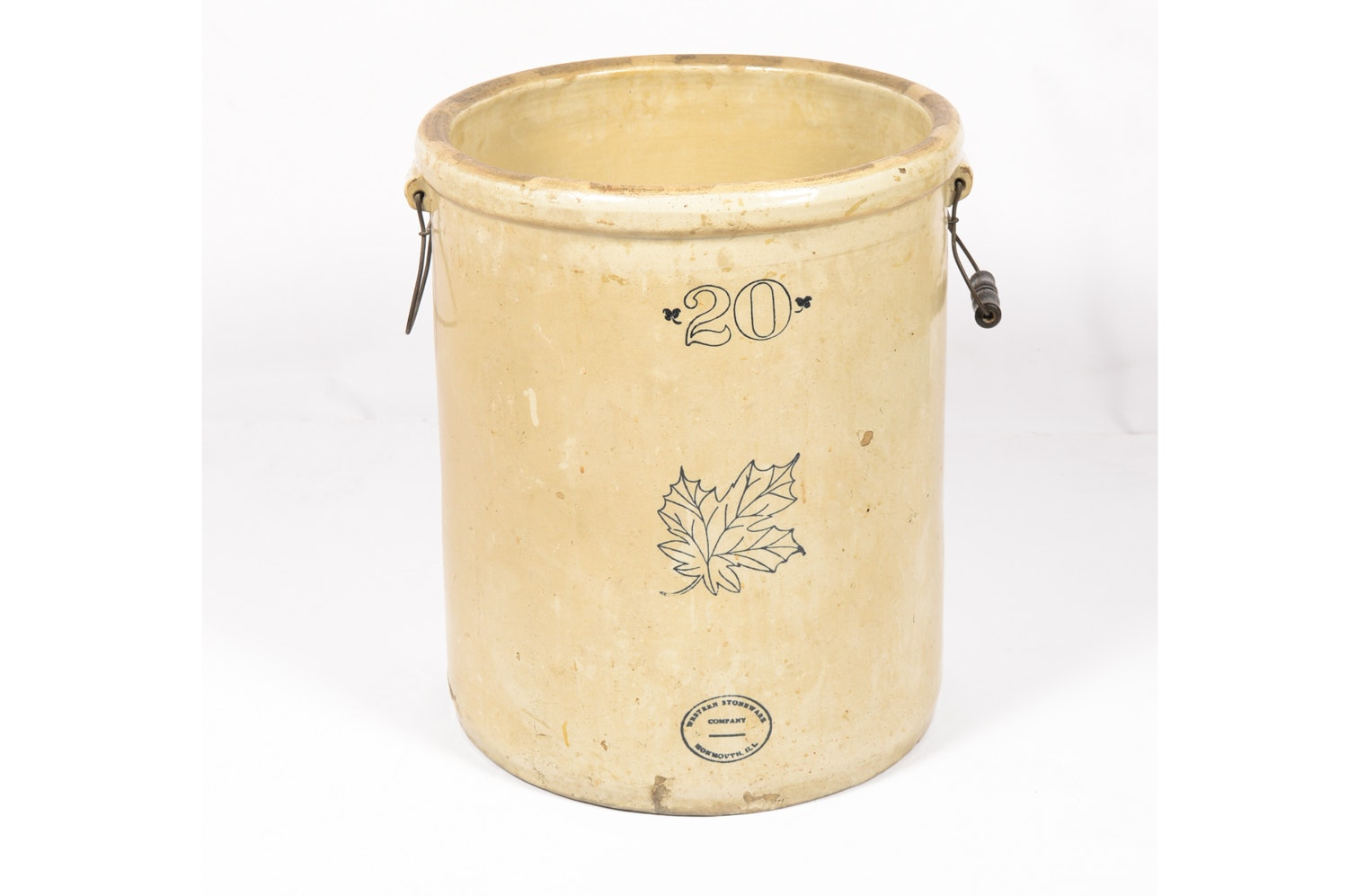 Antique Western Stoneware Company Twenty Gallon Crock