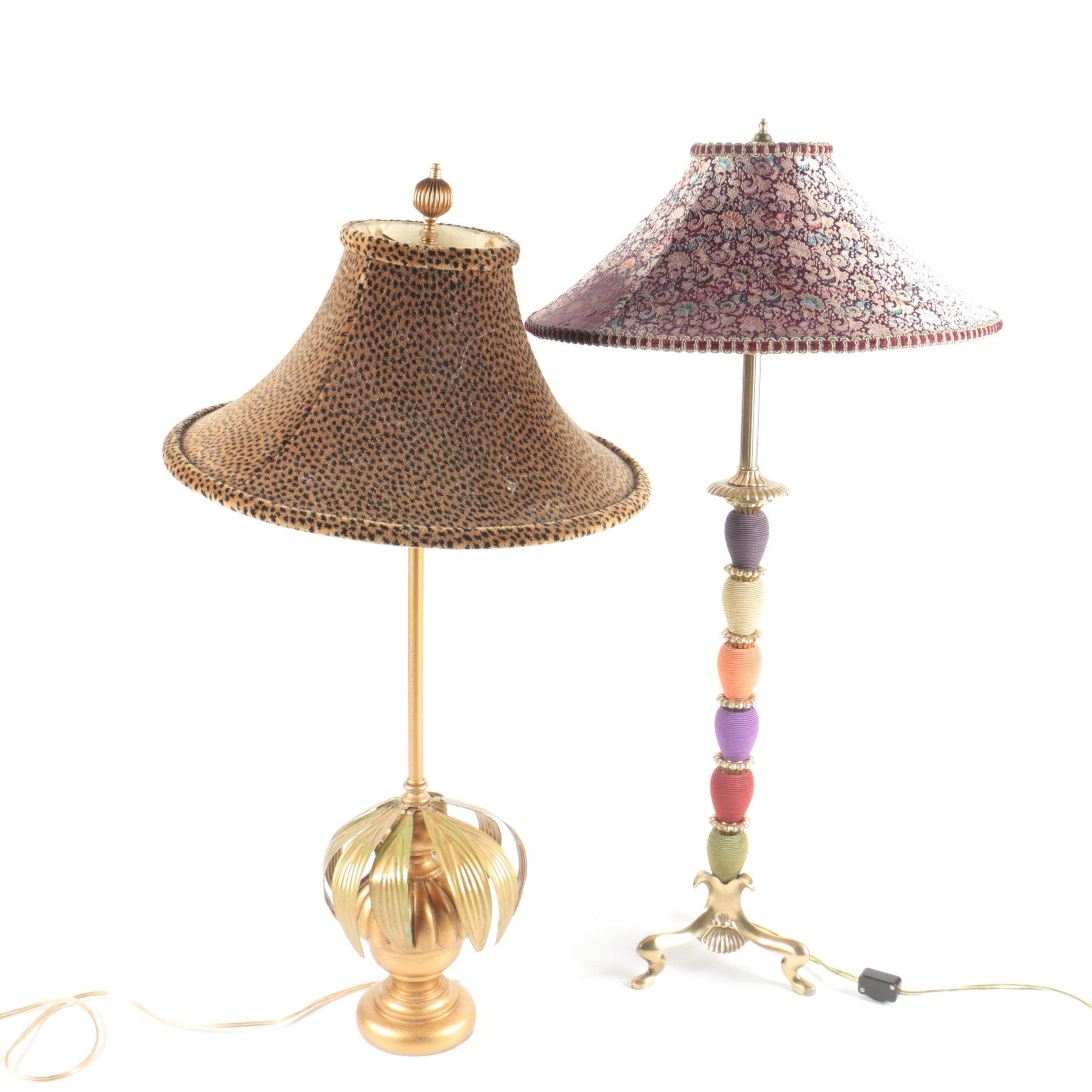 Eclectic Decorative Table Lamps