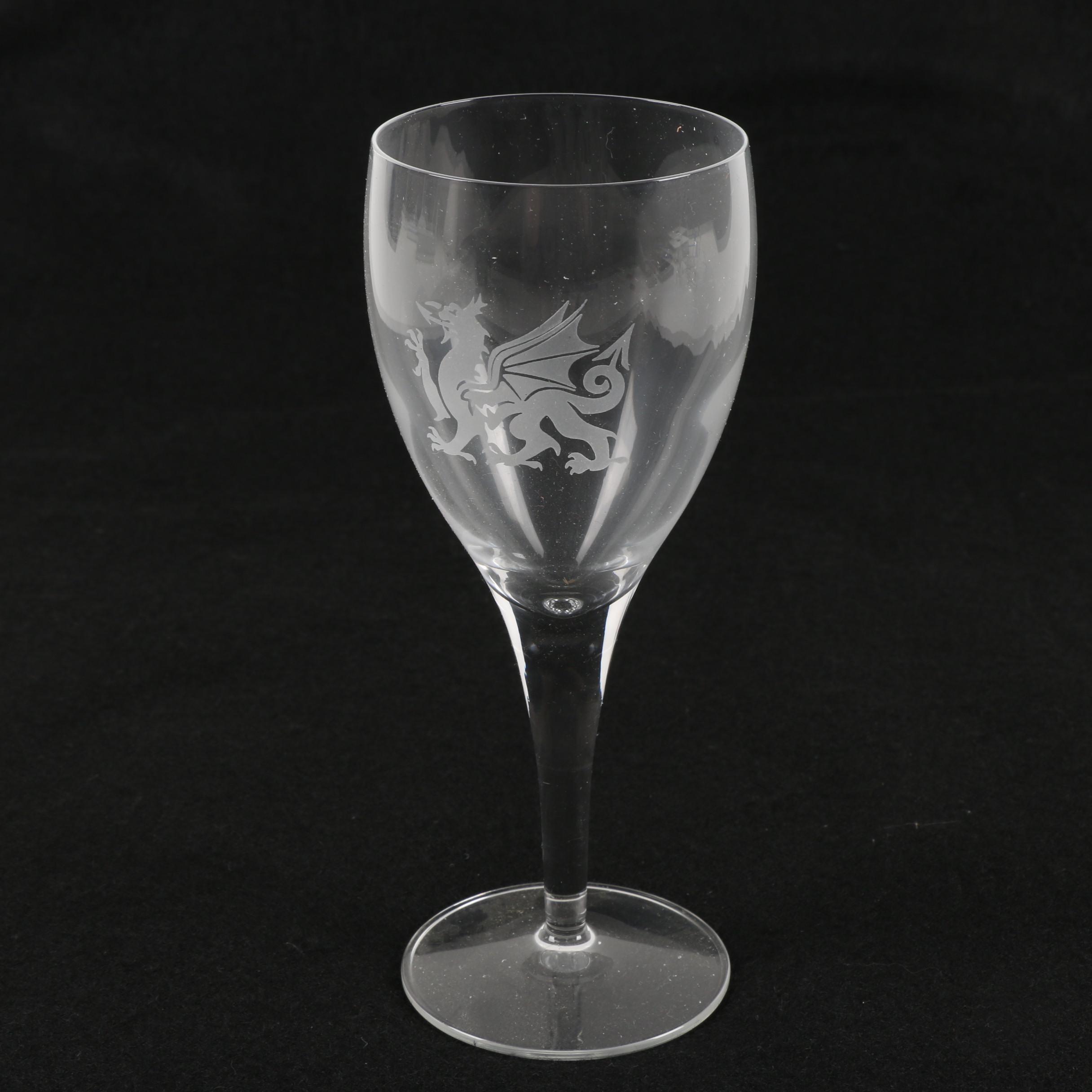 Celtic Crystal Wine Glass
