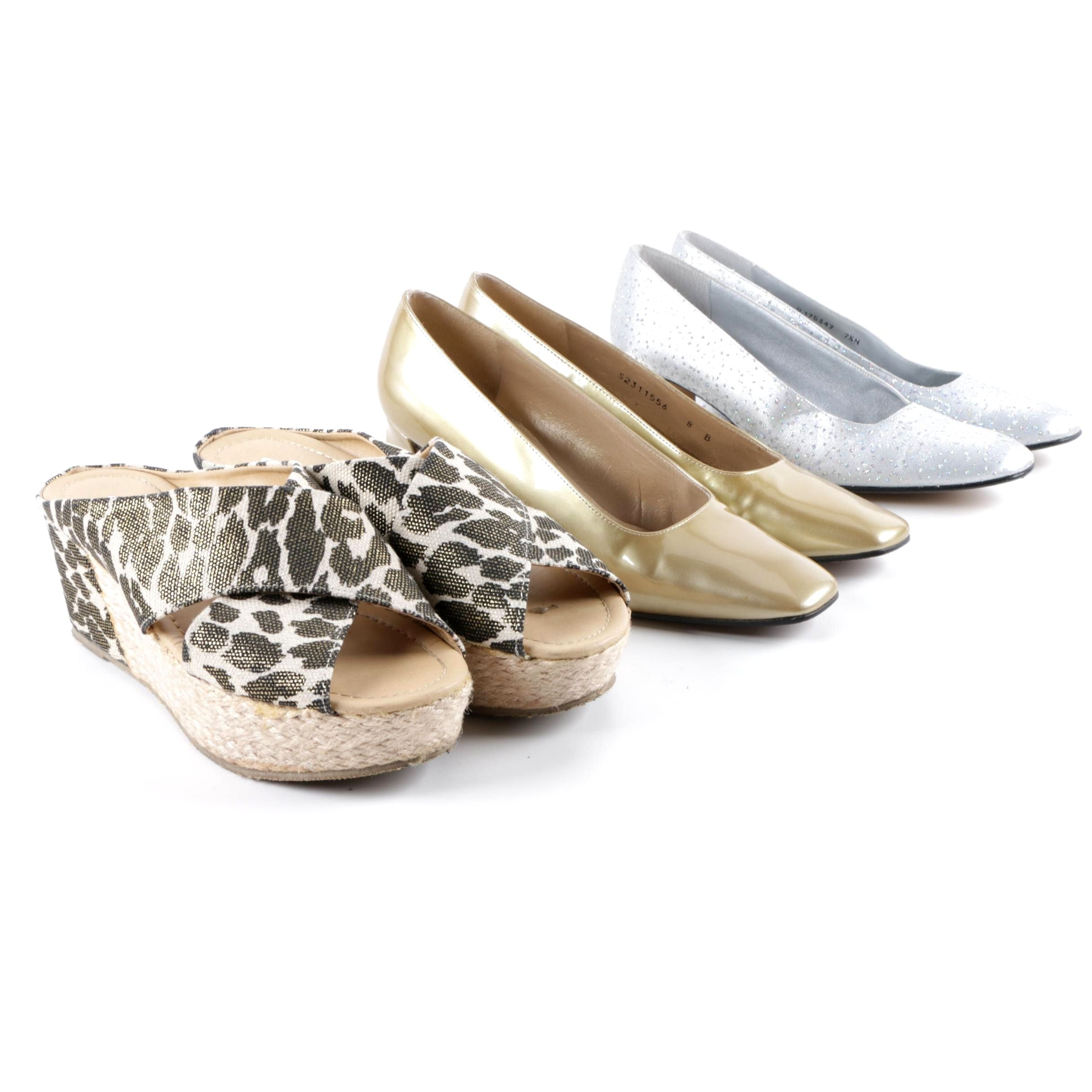 Women's Pumps and Espadrilles Including Stuart Weitzman and Chinese Laundry