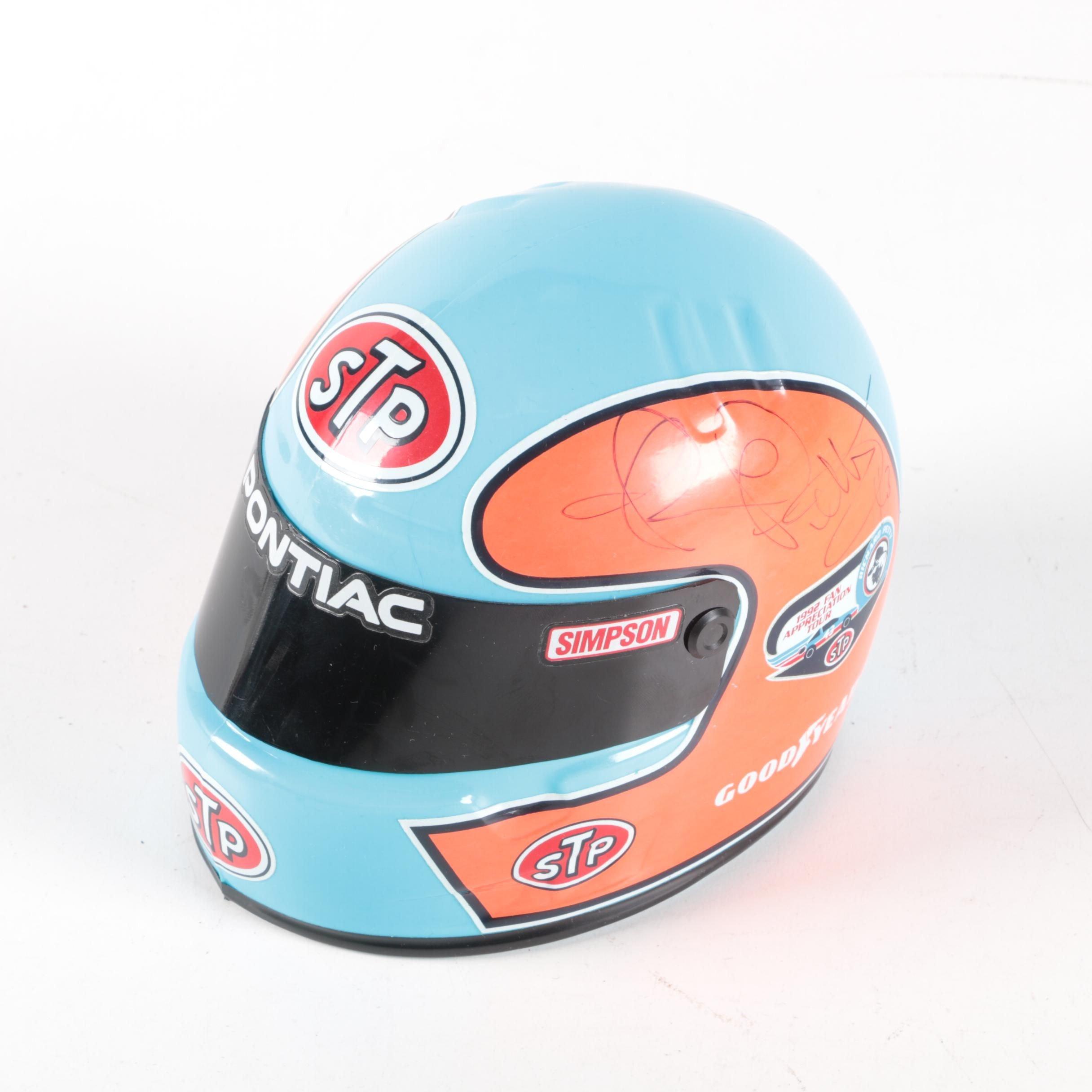 Richard Petty Autographed Mini-Helmet