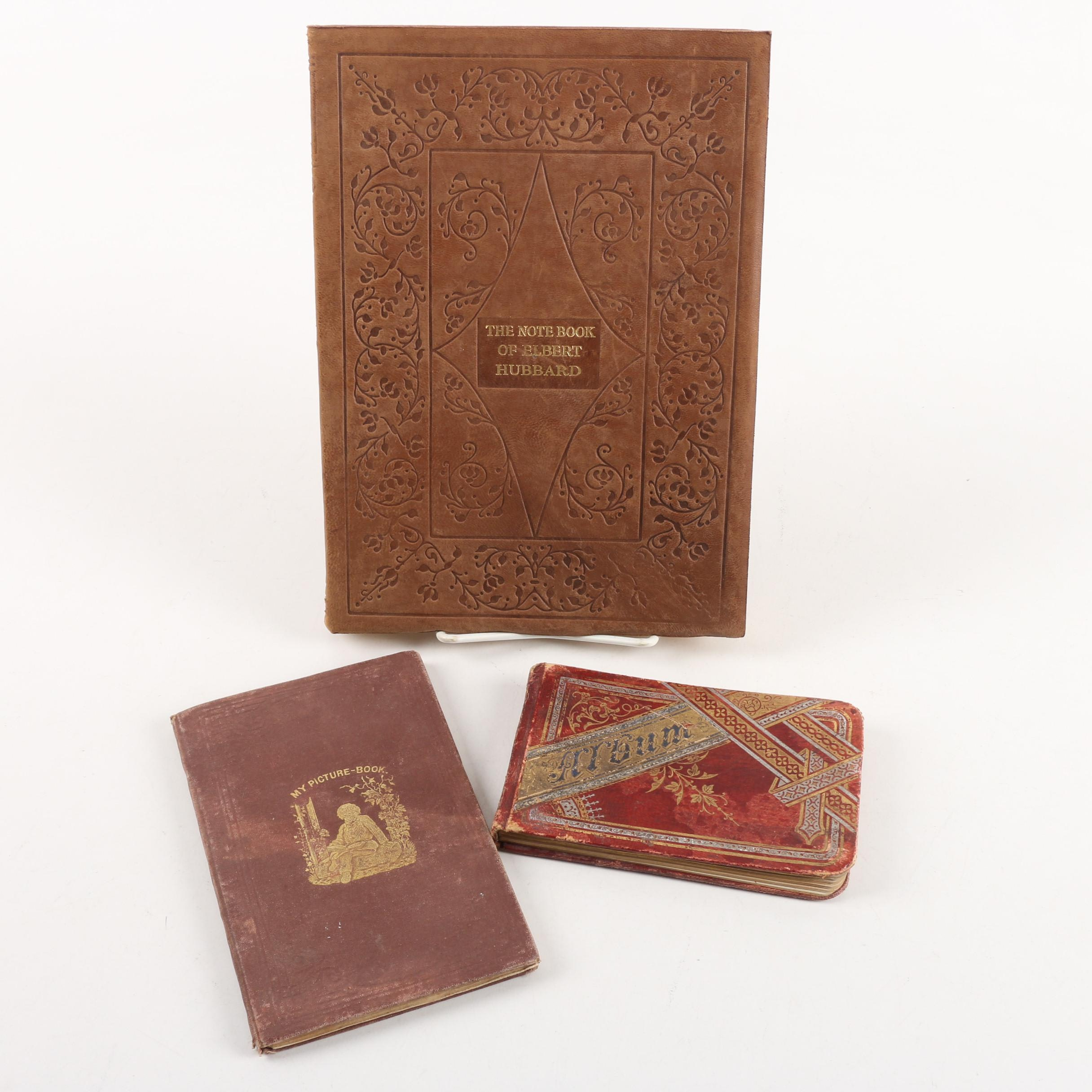 Antique Autograph Book and Other Books