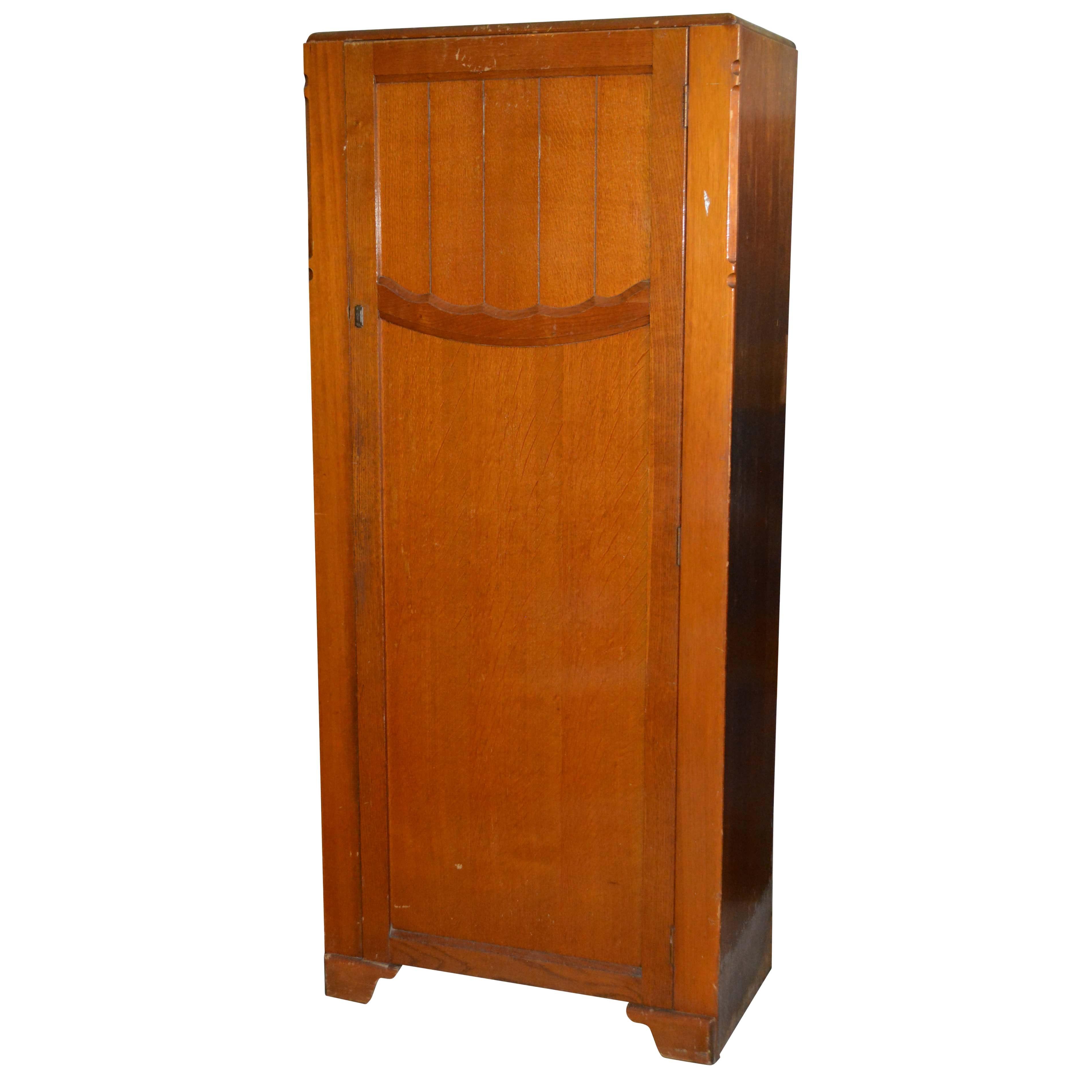 Harris Lebus Vintage Oak Armoire