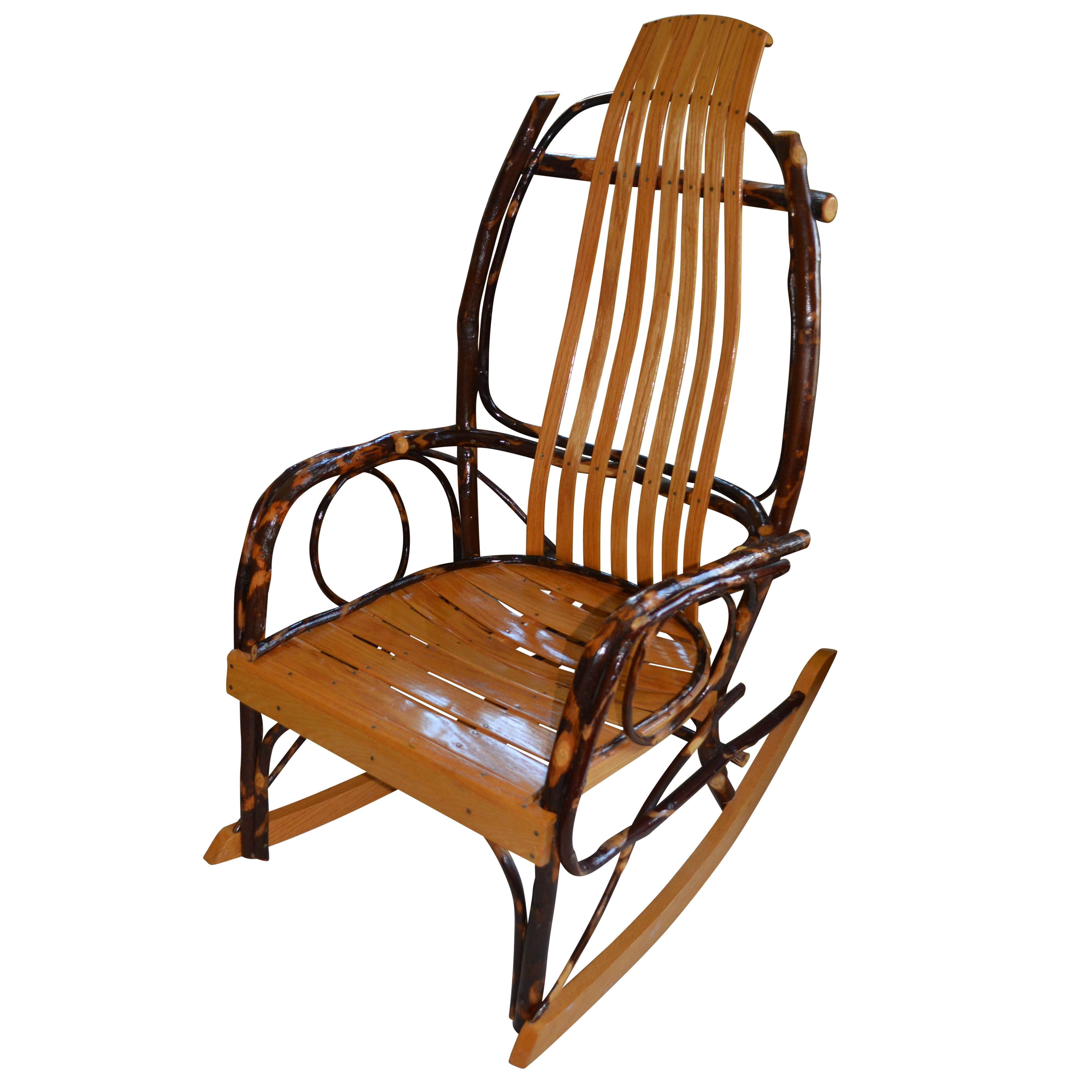 Bent Hickory Rocking Chair